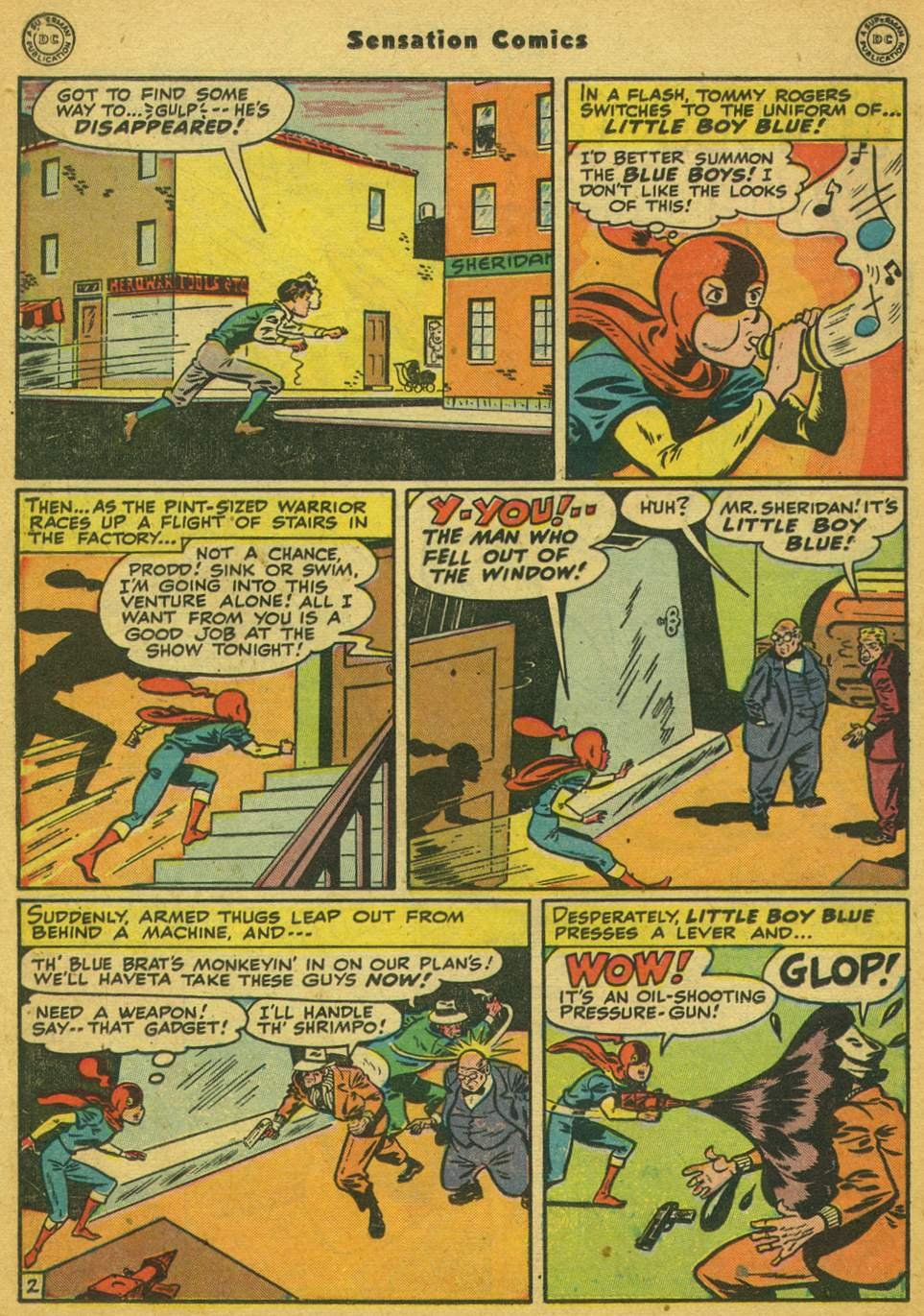 Read online Sensation (Mystery) Comics comic -  Issue #80 - 17
