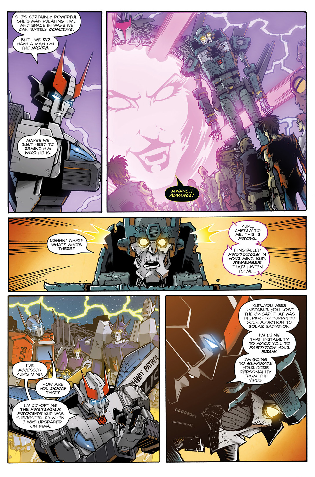 Read online Transformers: Infestation comic -  Issue #2 - 20