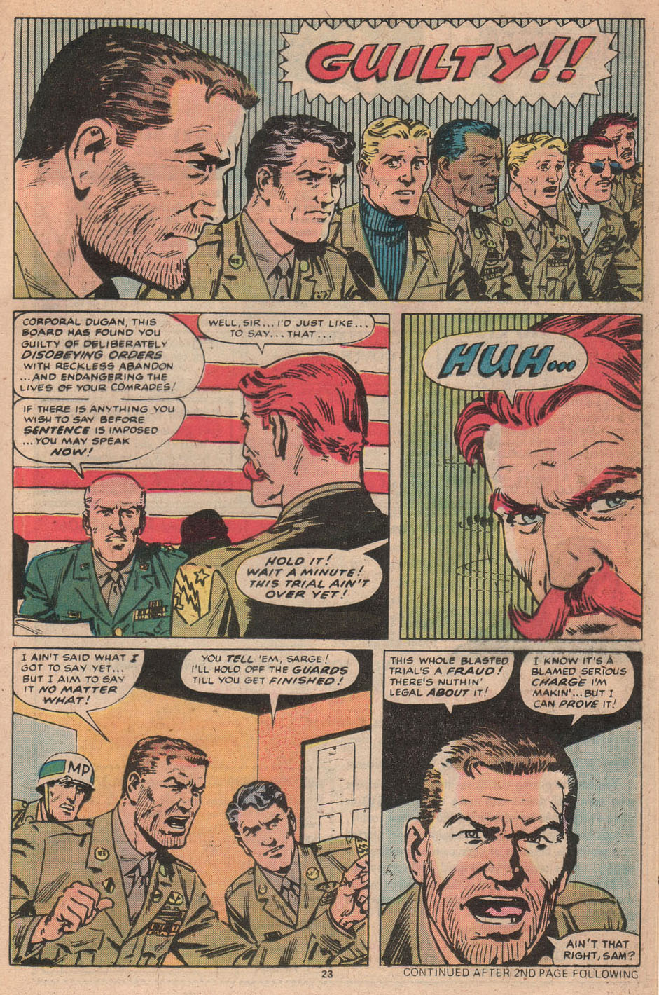 Read online Sgt. Fury comic -  Issue #156 - 24