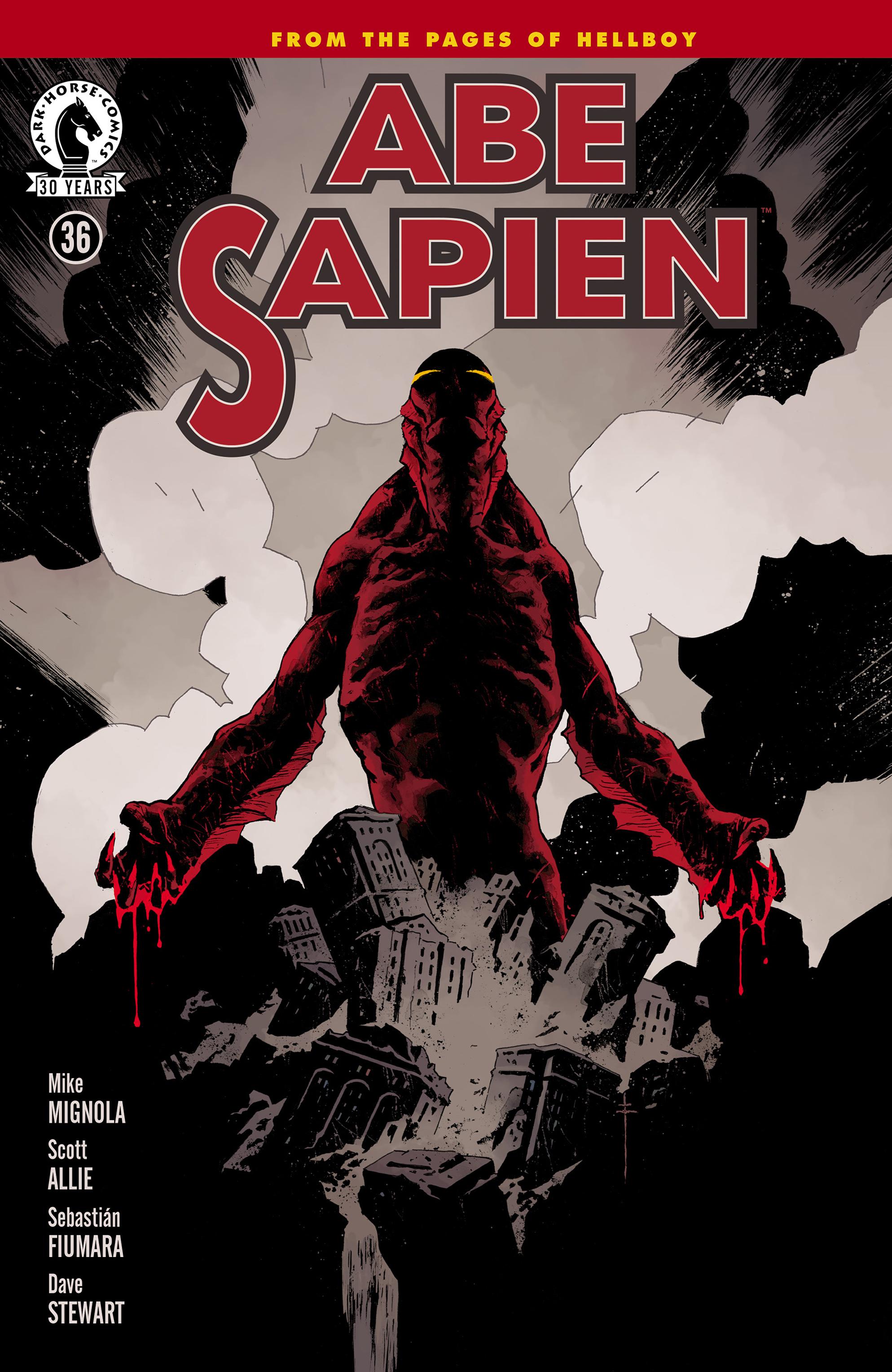 Read online Abe Sapien comic -  Issue #36 - 1