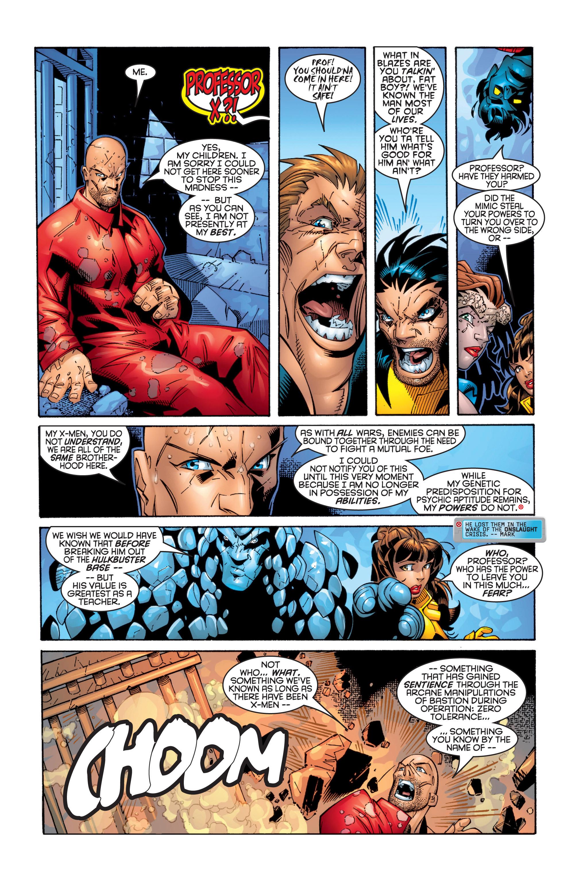 Read online Uncanny X-Men (1963) comic -  Issue #363 - 22