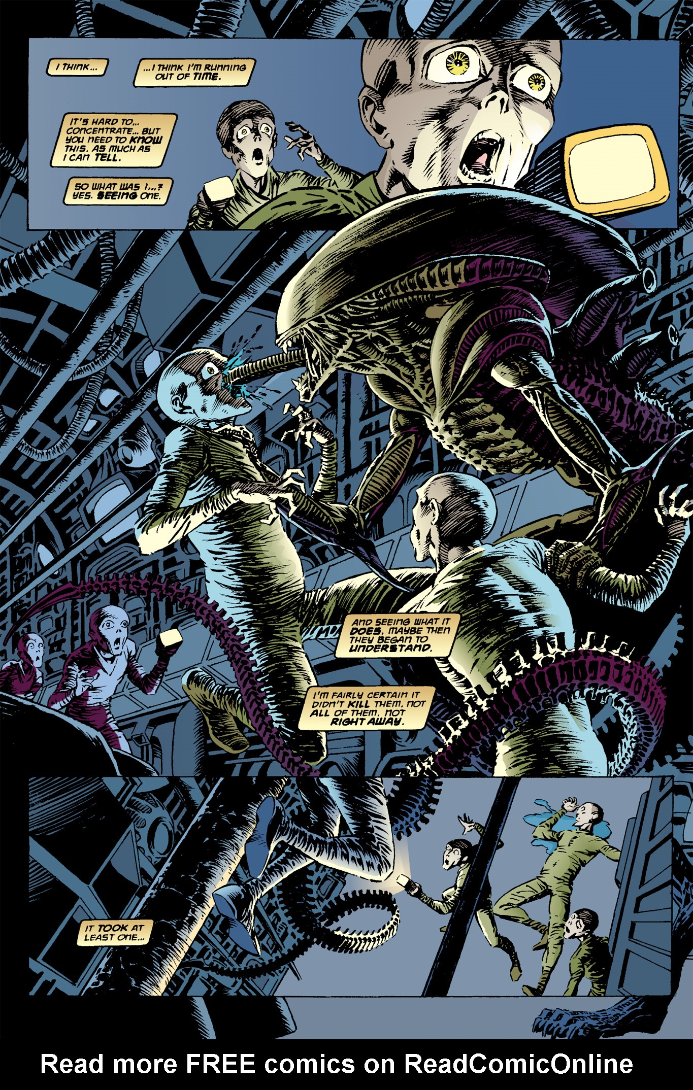 Read online Aliens: Incubation/Lucky/Taste comic -  Issue # Full - 10