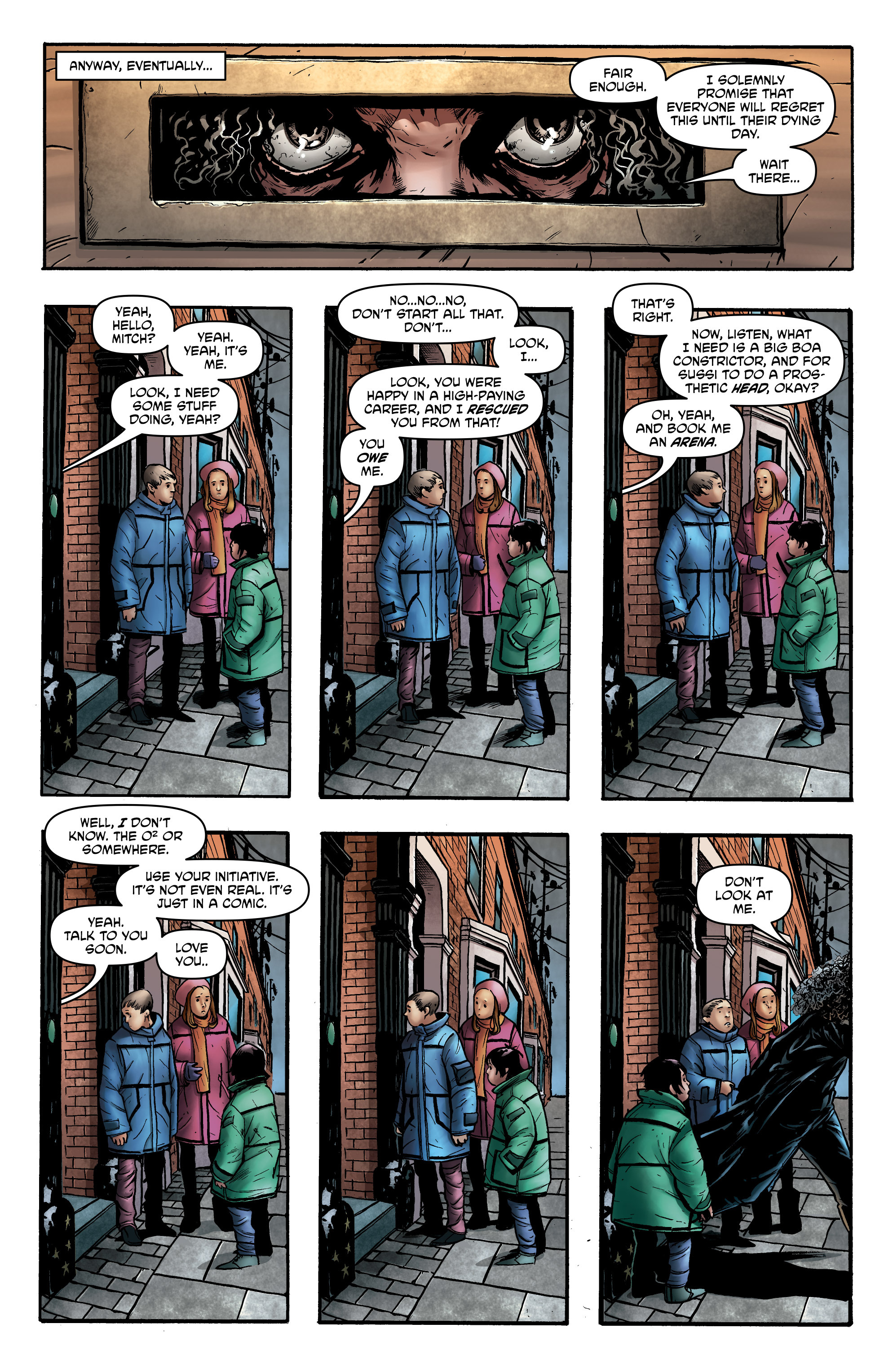 Read online God is Dead: Book of Acts comic -  Issue # Alpha - 29