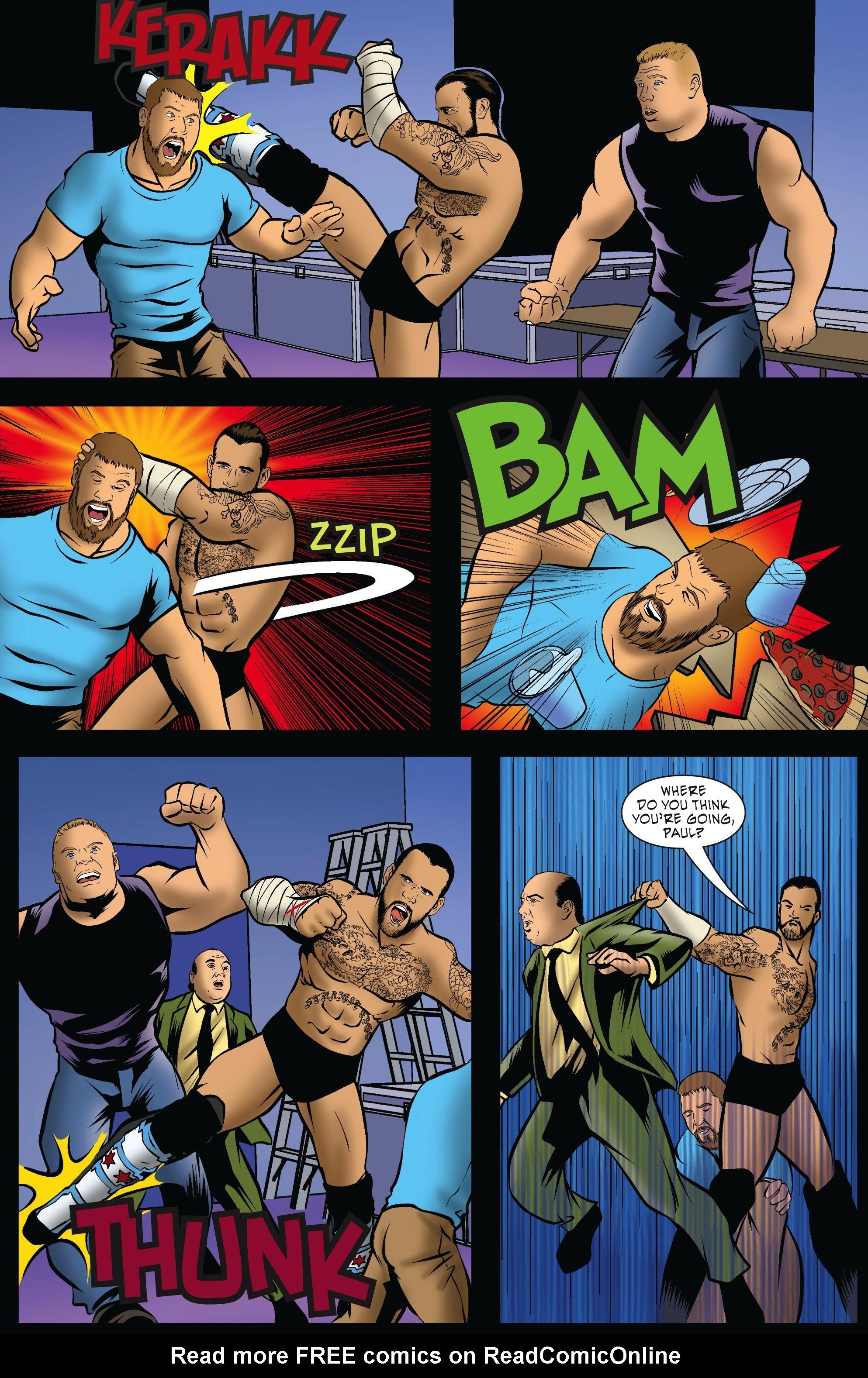 Read online WWE Superstars comic -  Issue #5 - 12
