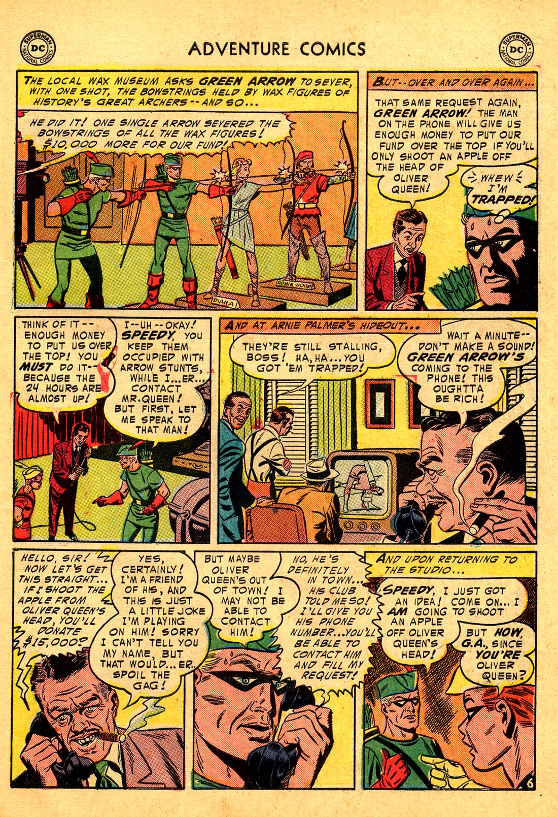 Read online Adventure Comics (1938) comic -  Issue #204 - 39