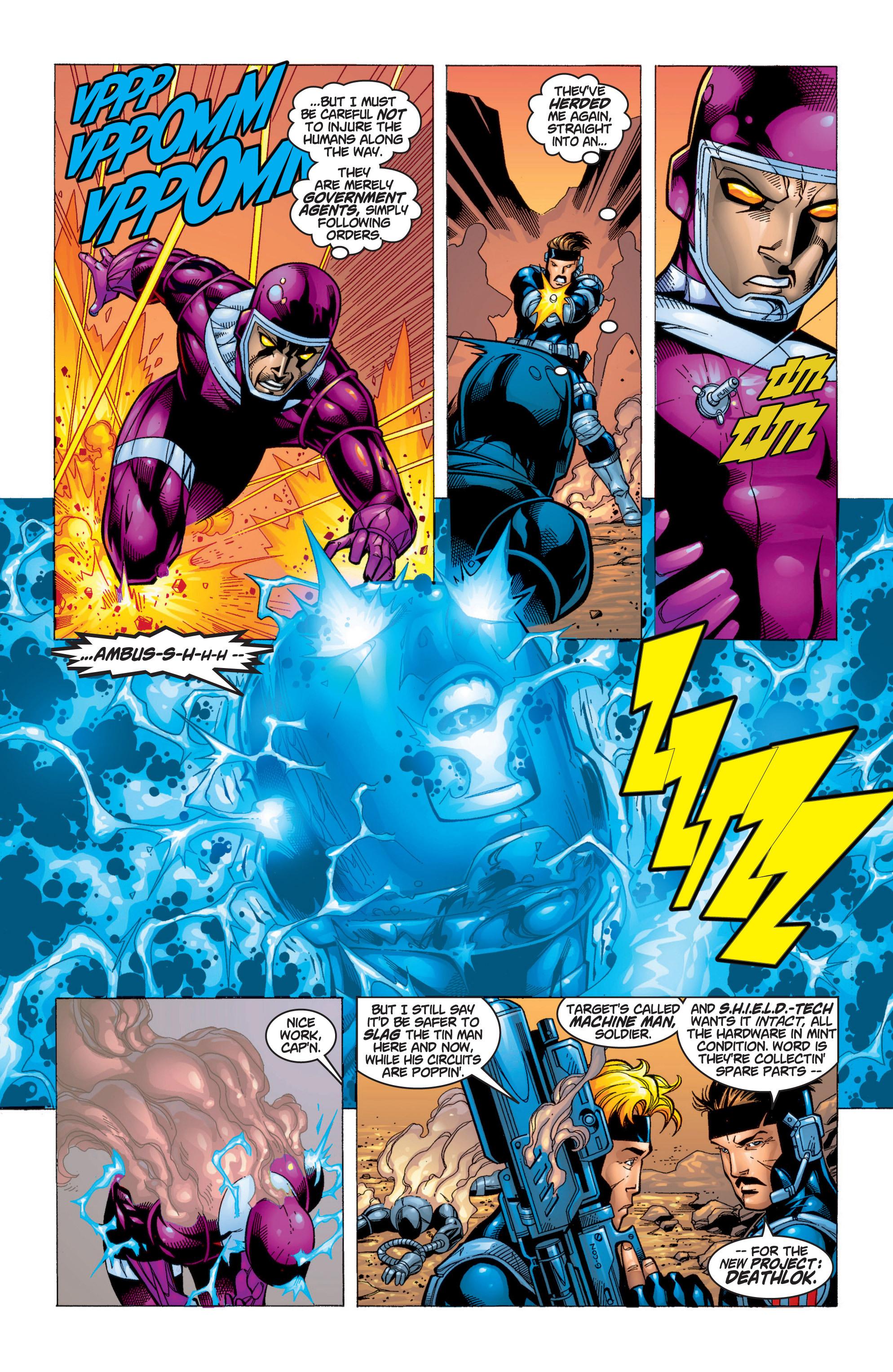 Read online Uncanny X-Men (1963) comic -  Issue #371 - 9