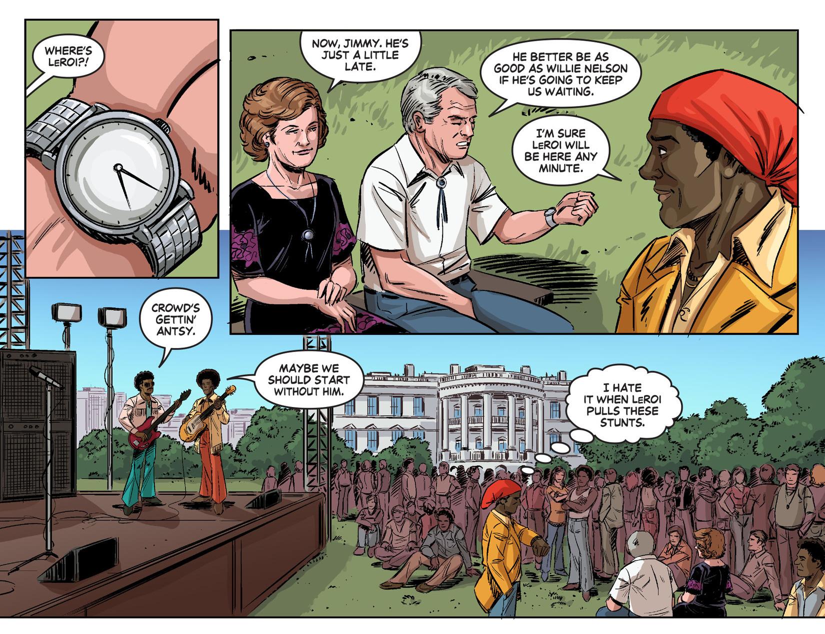 Read online Wonder Woman '77 [I] comic -  Issue #24 - 17