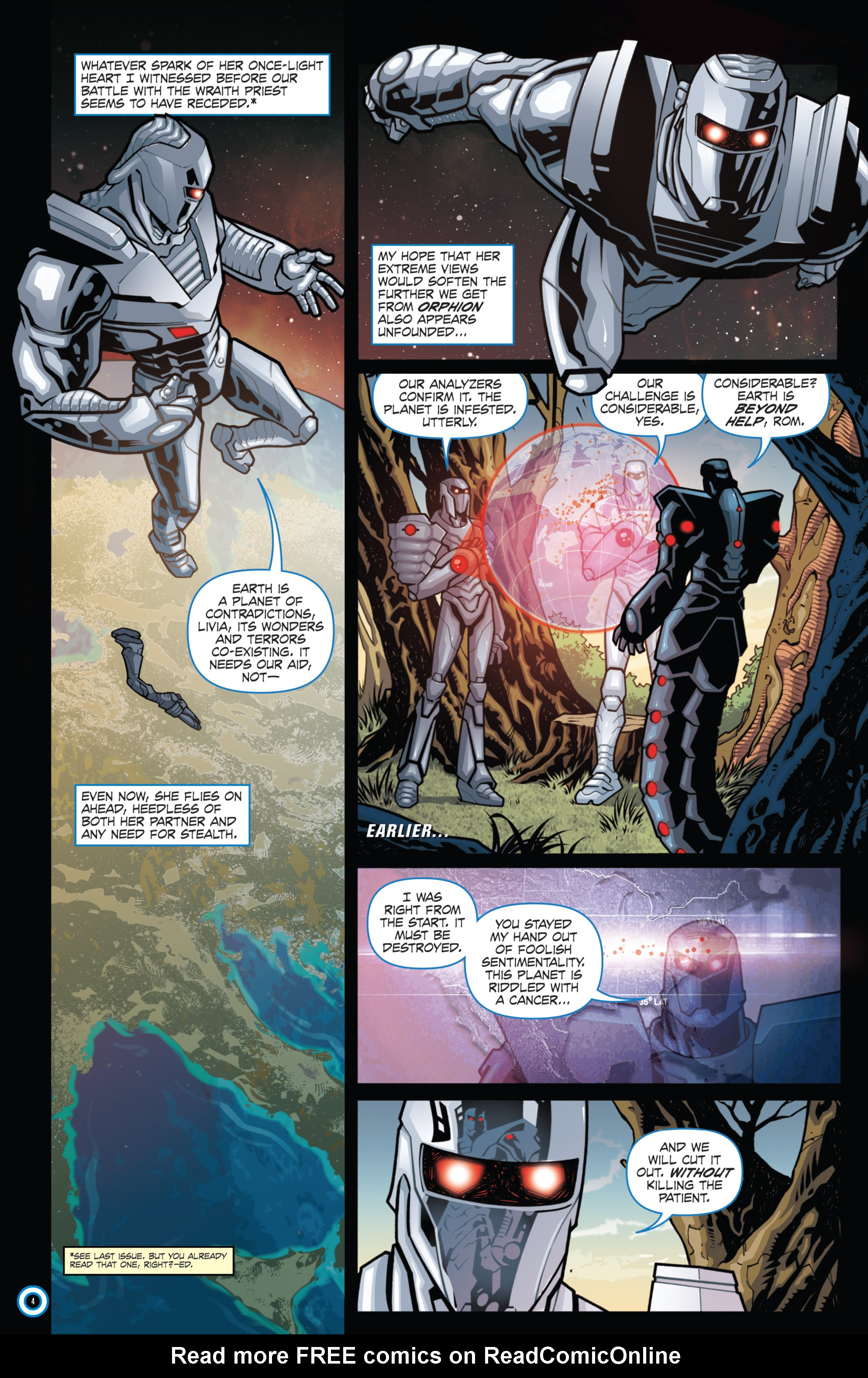 Read online ROM (2016) comic -  Issue #11 - 6