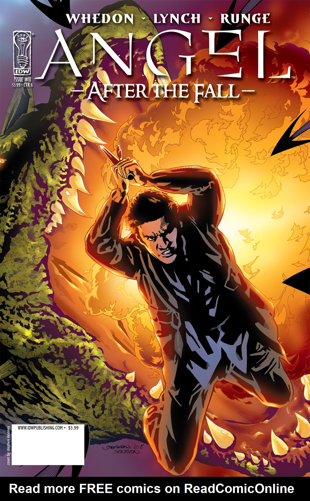 Read online Angel: After The Fall comic -  Issue #11 - 1