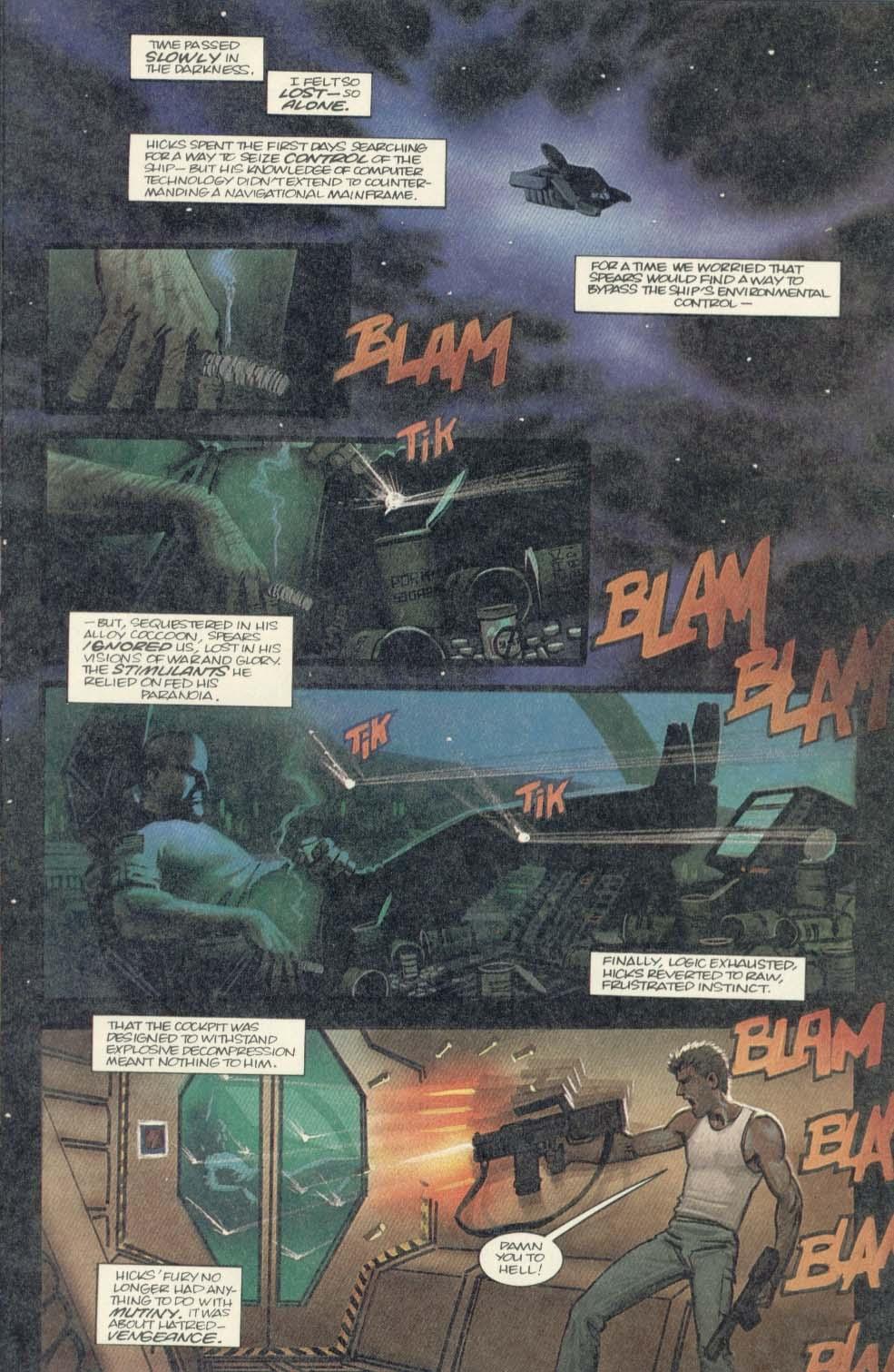 Read online Aliens (1989) comic -  Issue #4 - 15