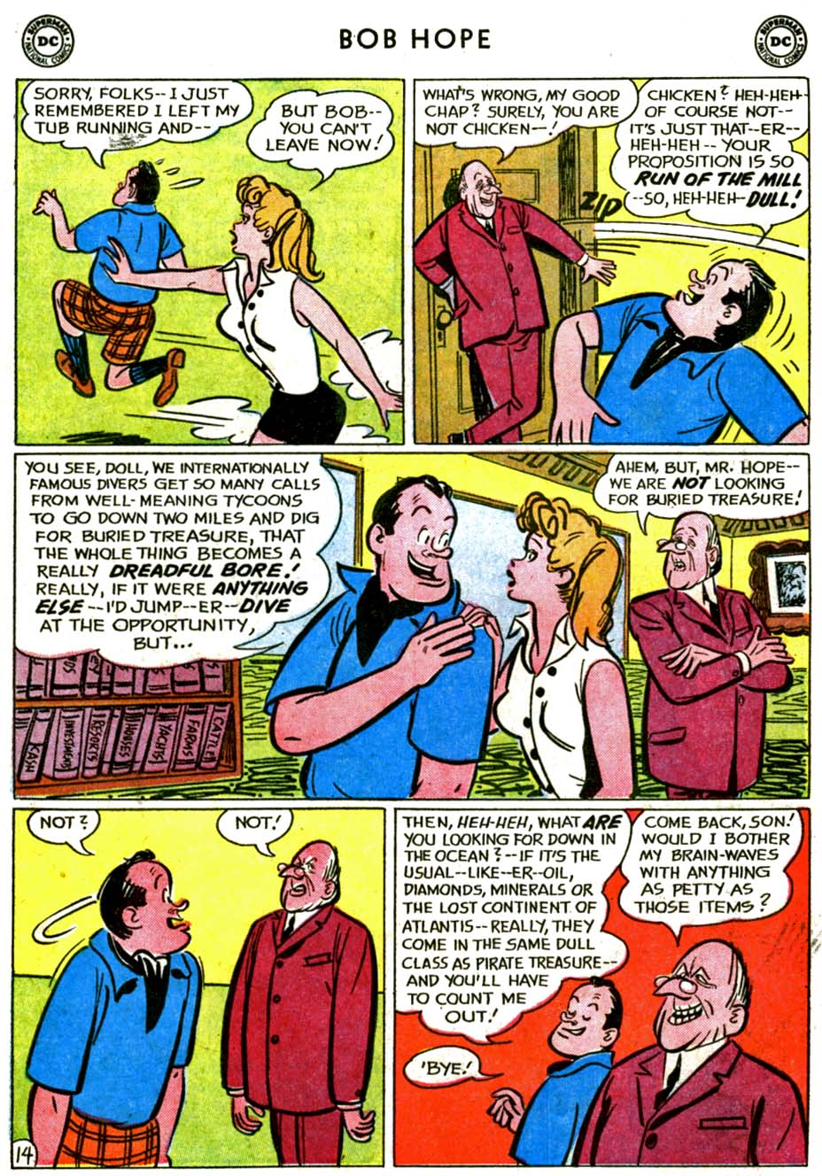 The Adventures of Bob Hope issue 72 - Page 18