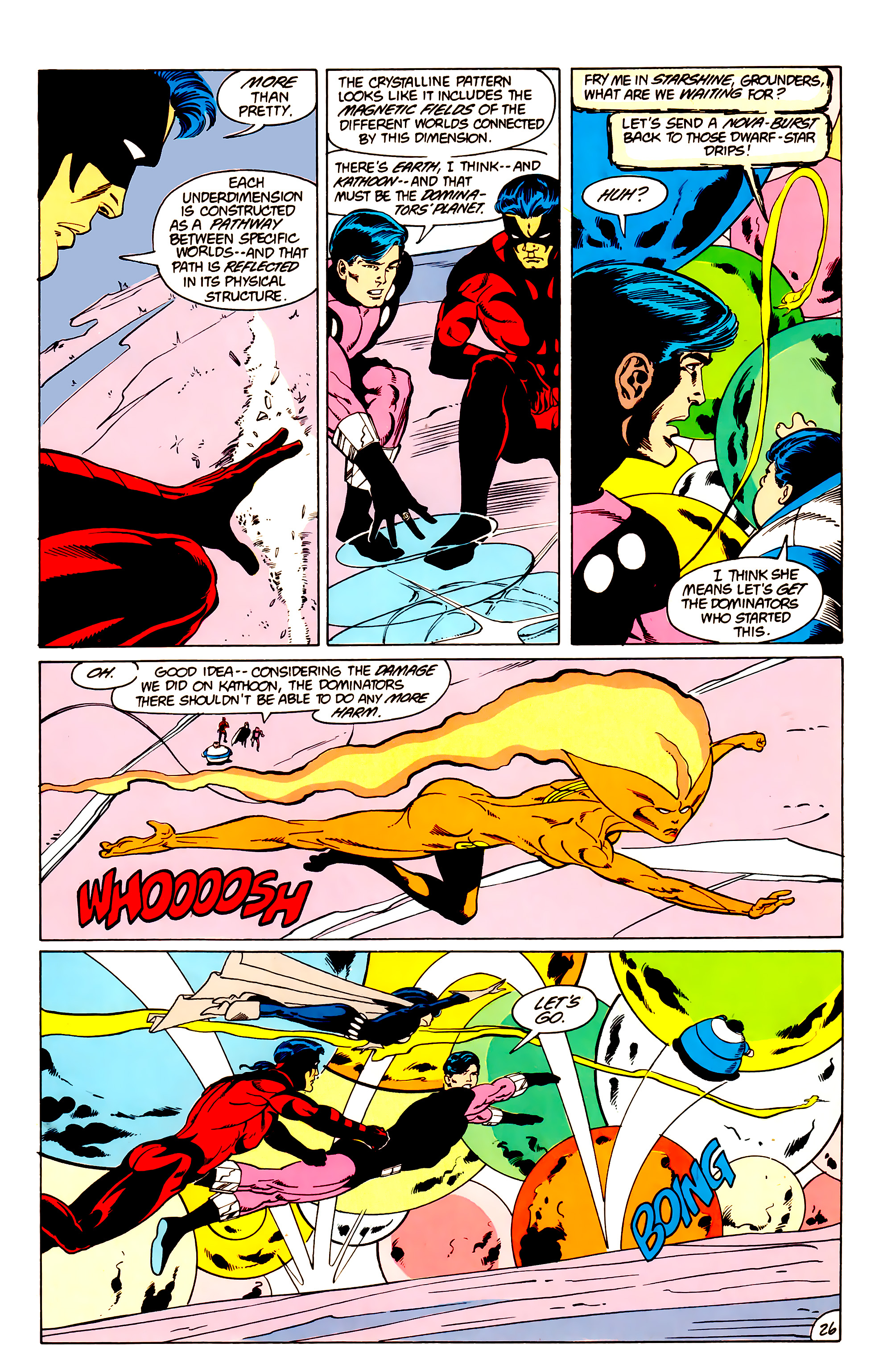 Legion of Super-Heroes (1984) _Annual_3 Page 26