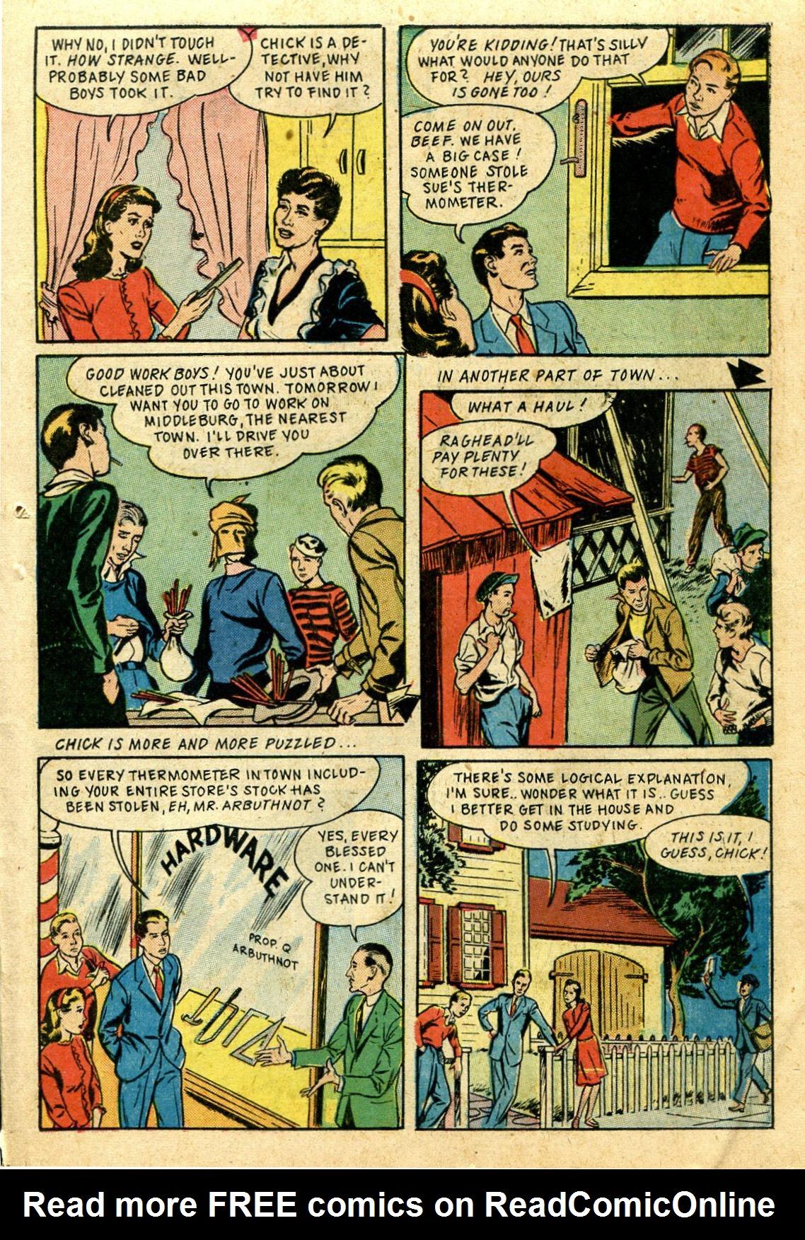 Read online Shadow Comics comic -  Issue #44 - 40