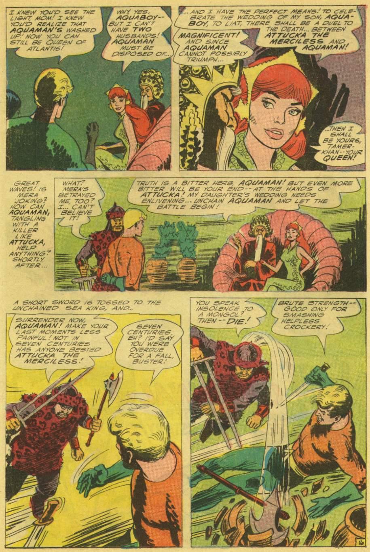 Read online Aquaman (1962) comic -  Issue #25 - 21