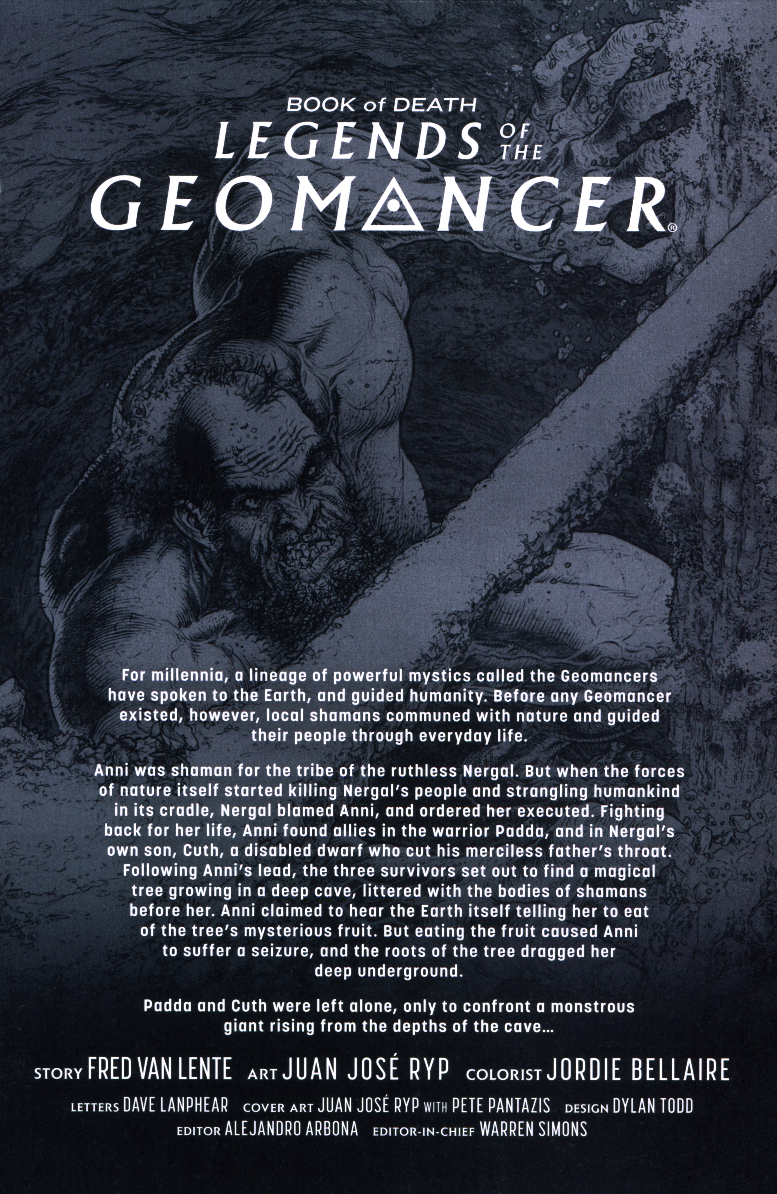 Read online Book of Death: Legends of the Geomancer comic -  Issue #3 - 3