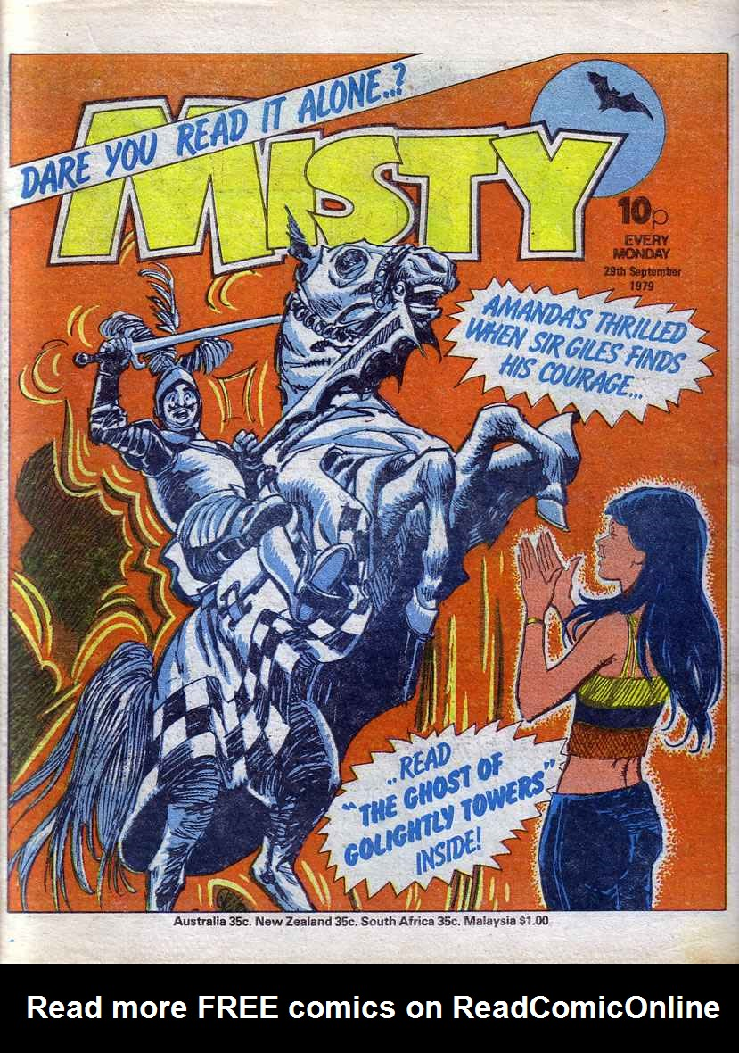 Read online Misty comic -  Issue #86 - 1