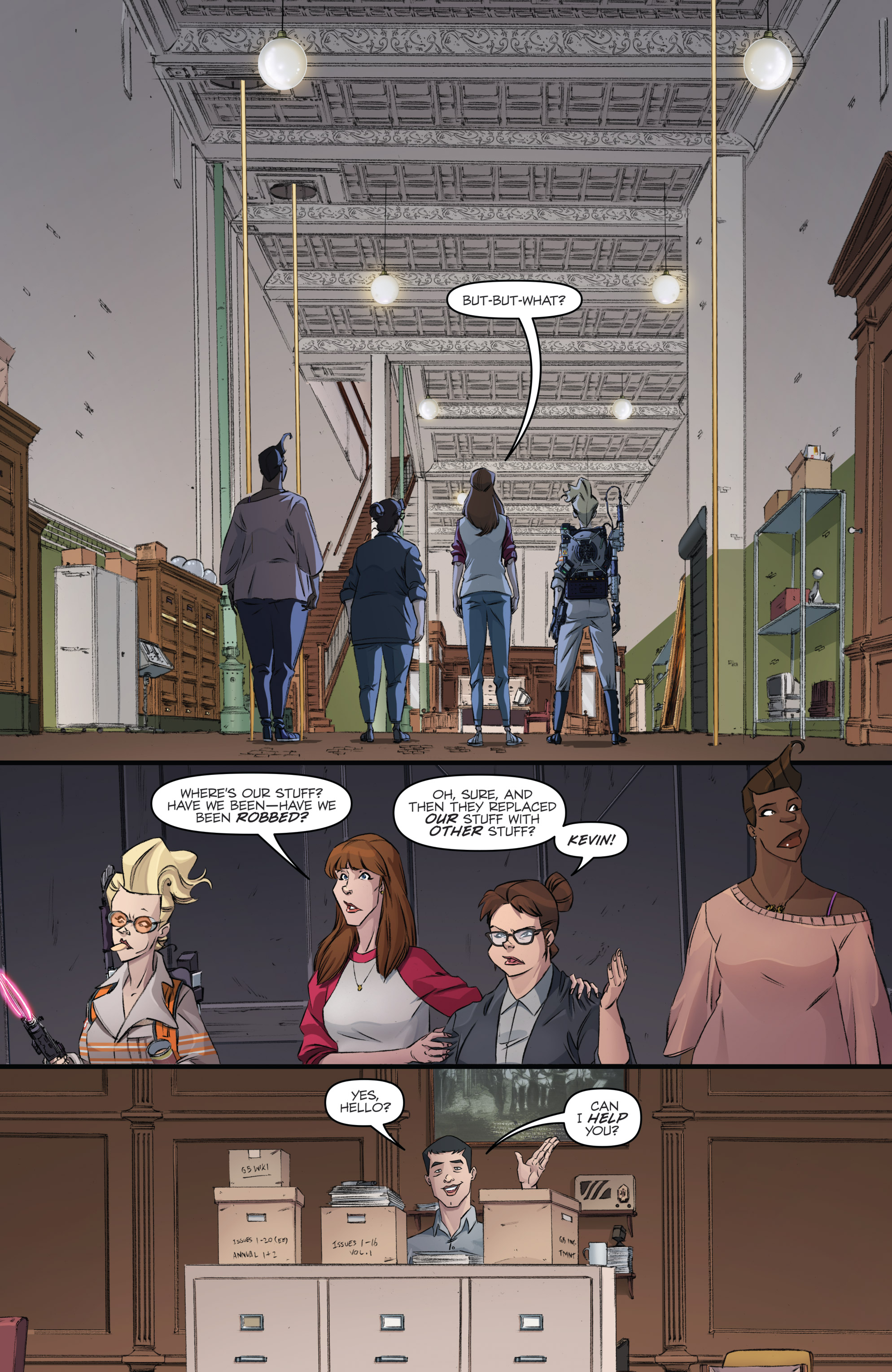 Read online Ghostbusters 101 comic -  Issue #3 - 13