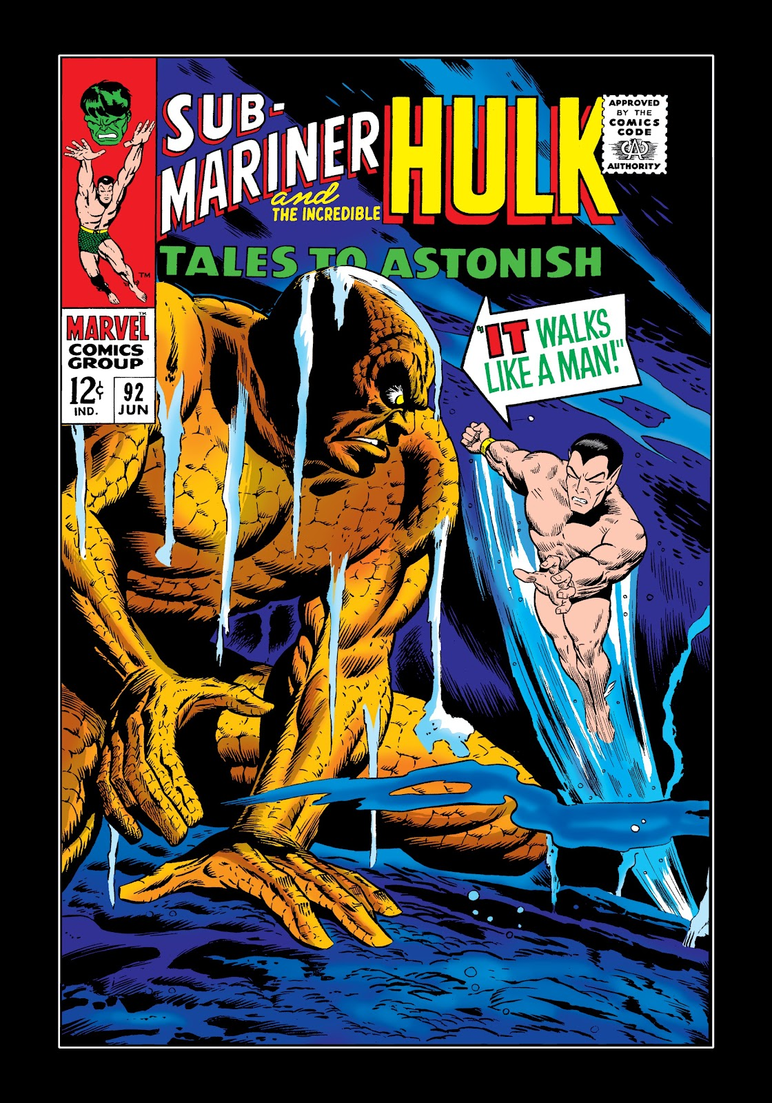 Read online Marvel Masterworks: The Incredible Hulk comic -  Issue # TPB 3 (Part 2) - 39