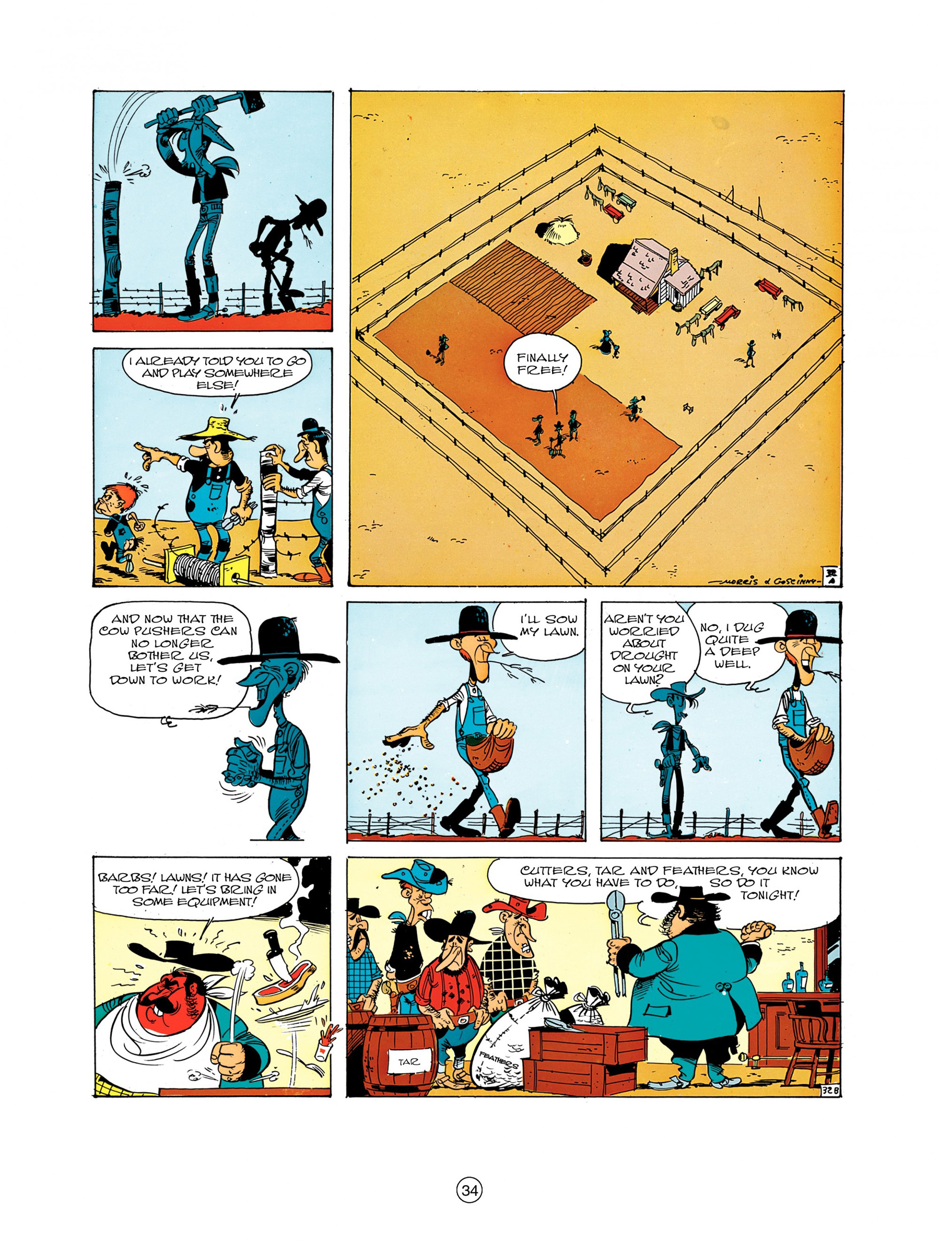 Read online A Lucky Luke Adventure comic -  Issue #7 - 34