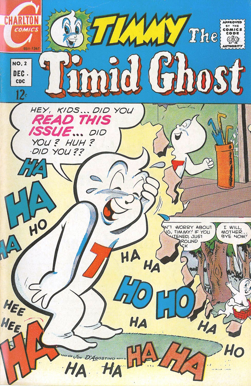 Timmy the Timid Ghost 2 Page 1