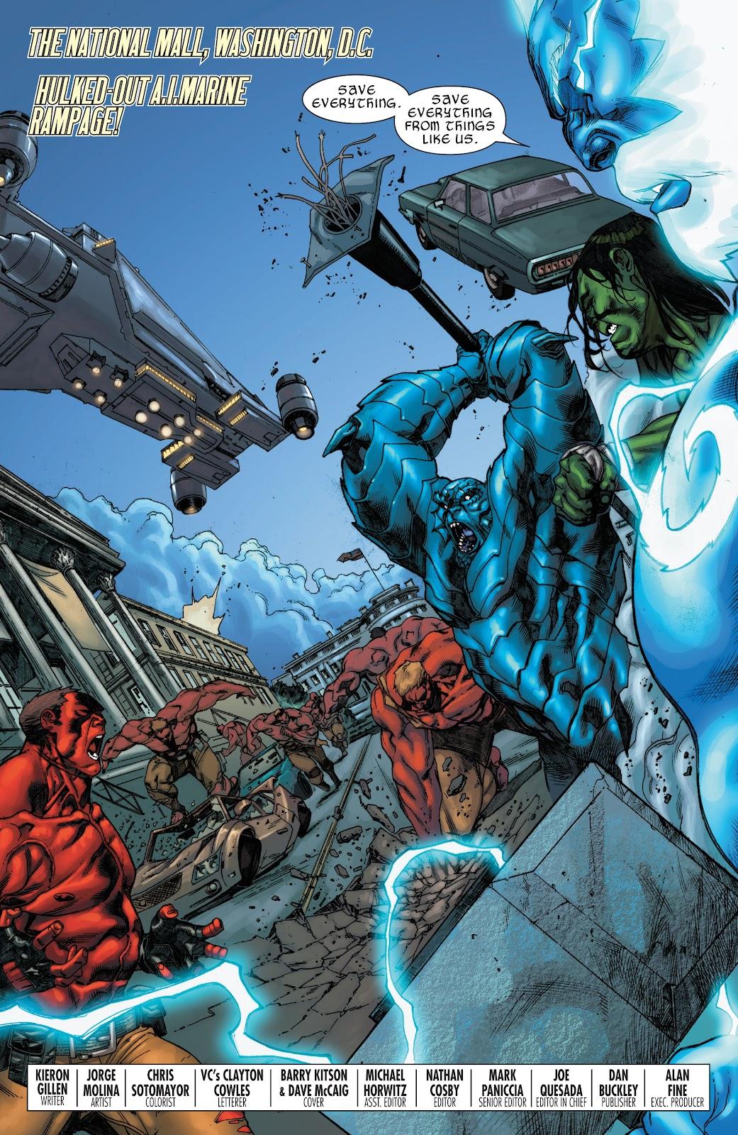 World War Hulks: Spider-Man vs. Thor Issue #1 #1 - English 4