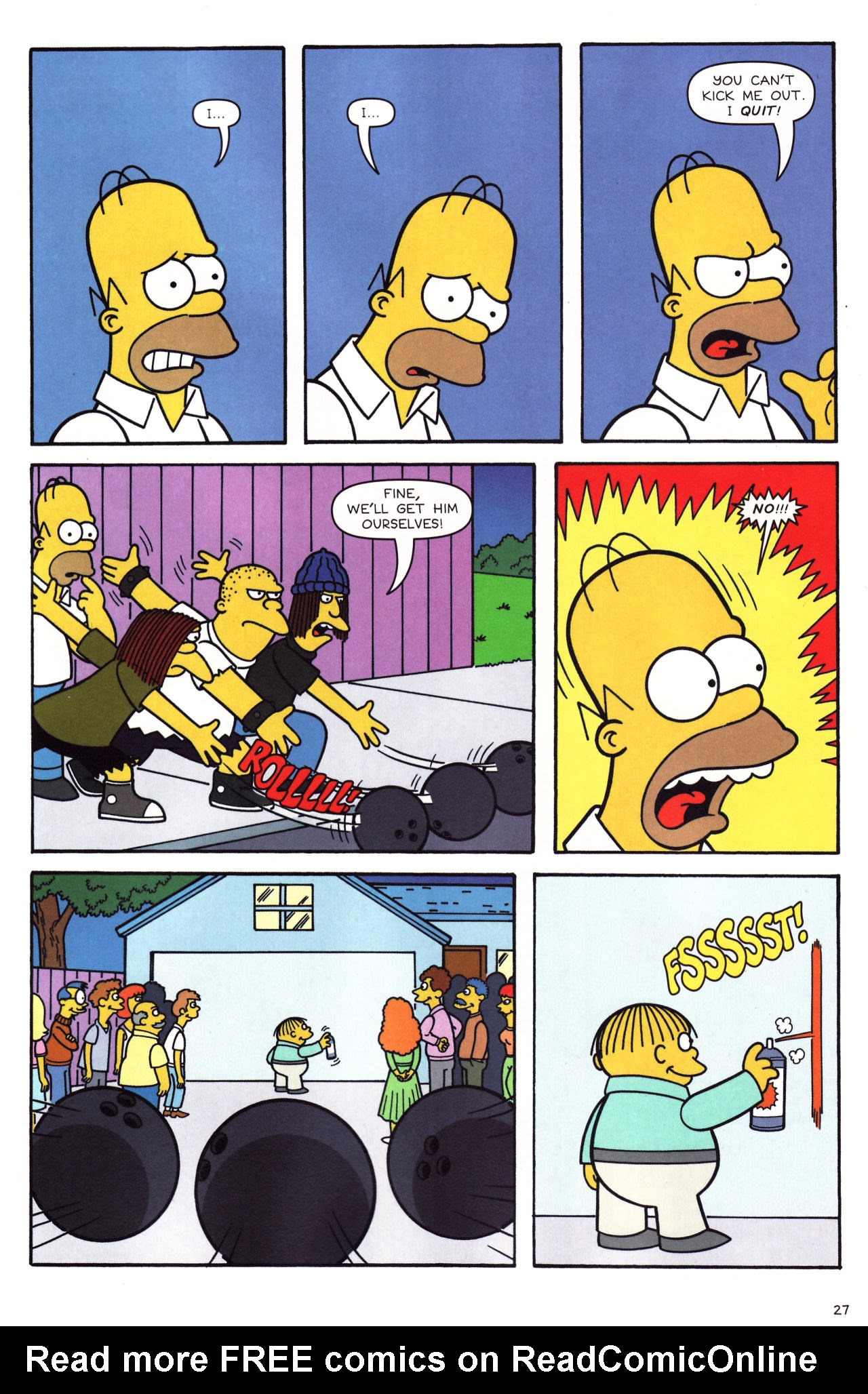 Read online Simpsons Comics comic -  Issue #136 - 22