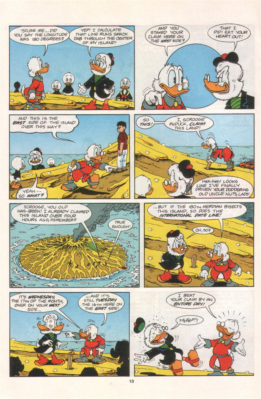 Read online Uncle Scrooge (1953) comic -  Issue #276 - 18