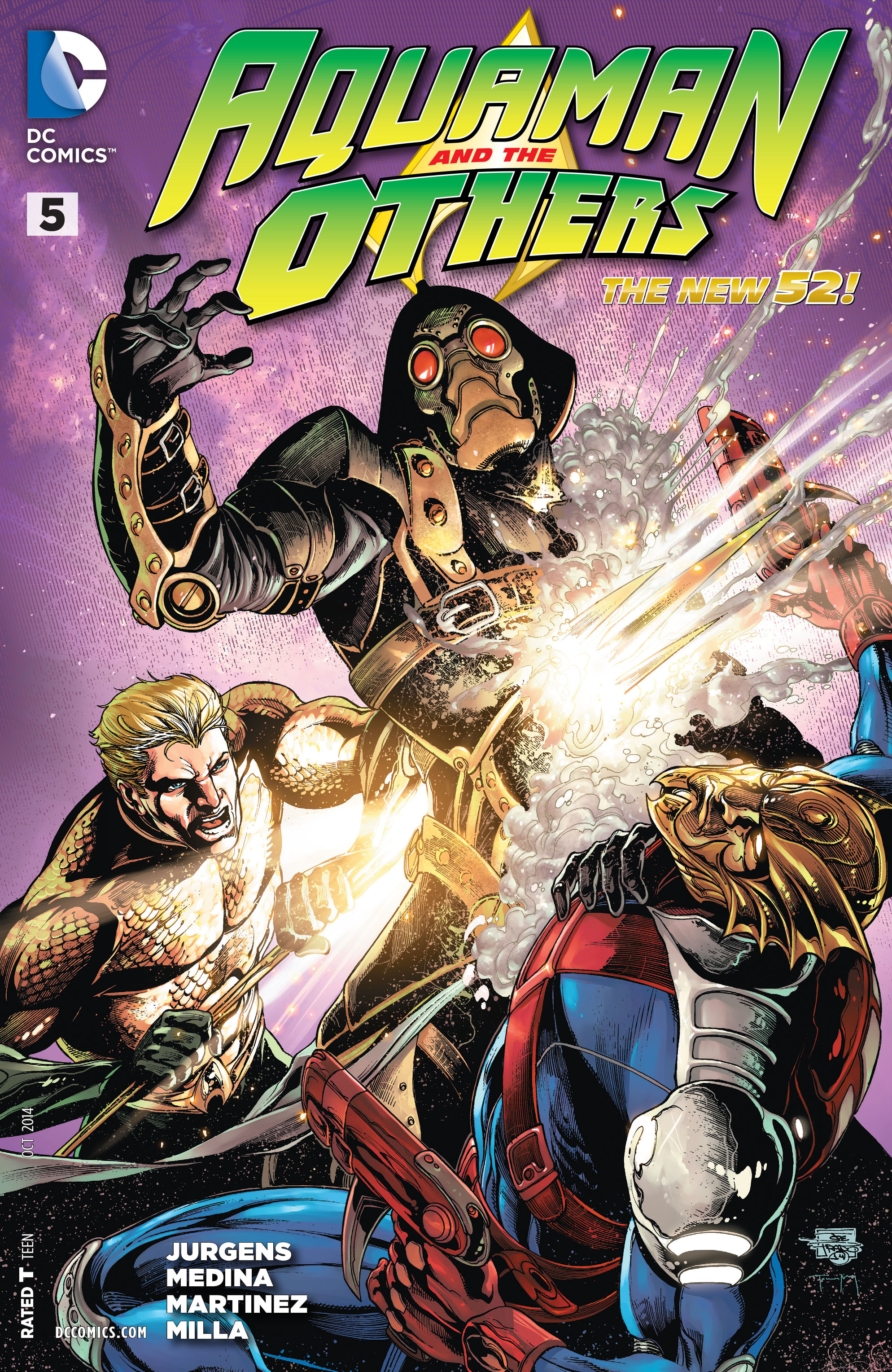 Read online Aquaman and the Others comic -  Issue #5 - 1