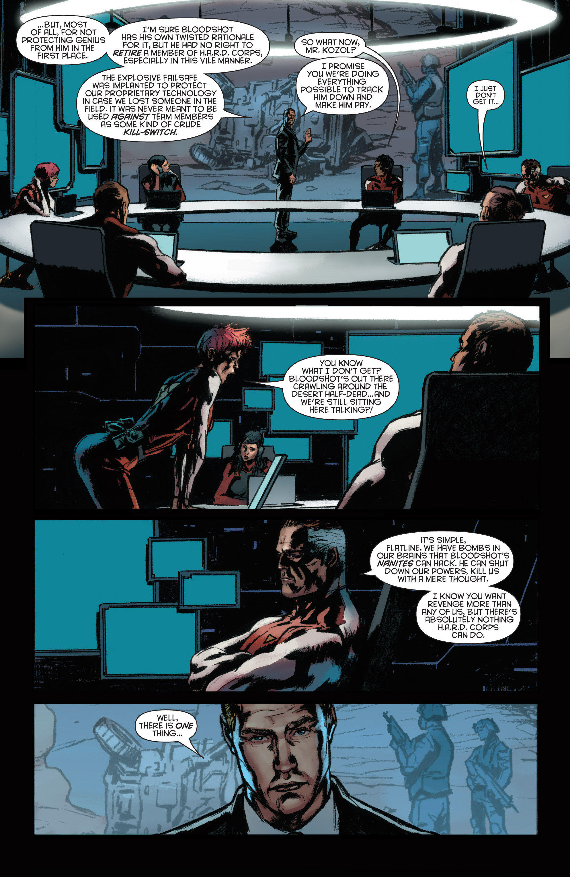 Read online Bloodshot and H.A.R.D.Corps comic -  Issue #22 - 9