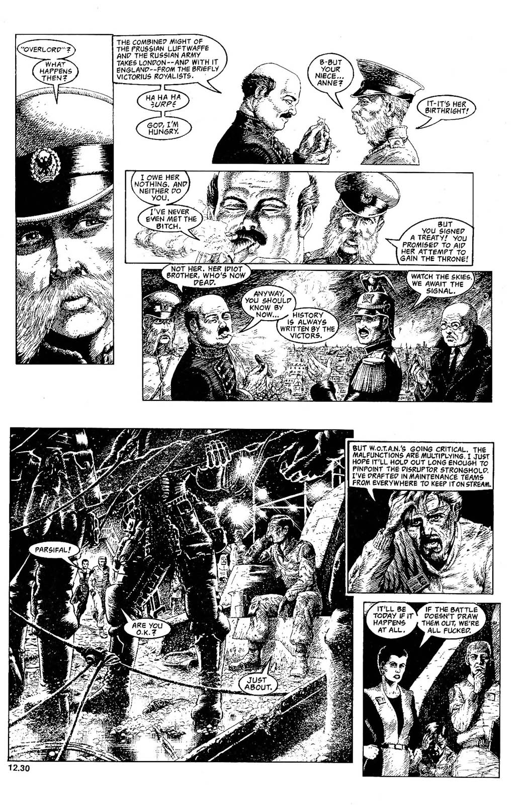 Read online The Adventures of Luther Arkwright comic -  Issue #8 - 15