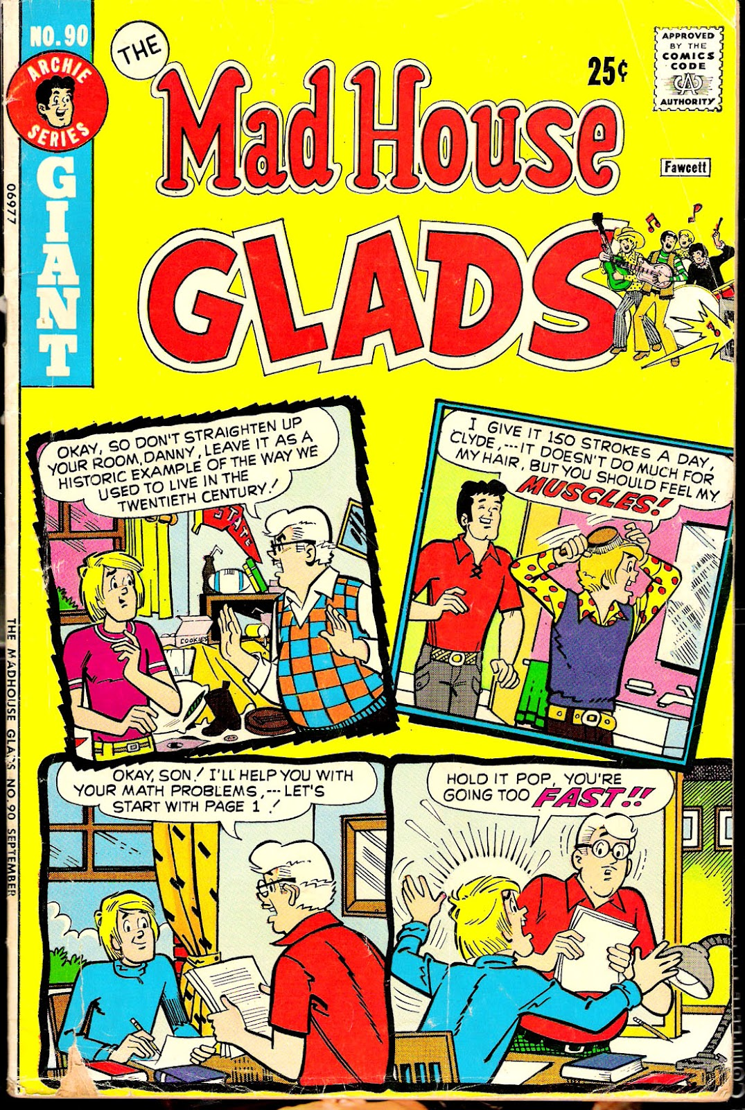 Read online The Mad House Glads comic -  Issue #90 - 1
