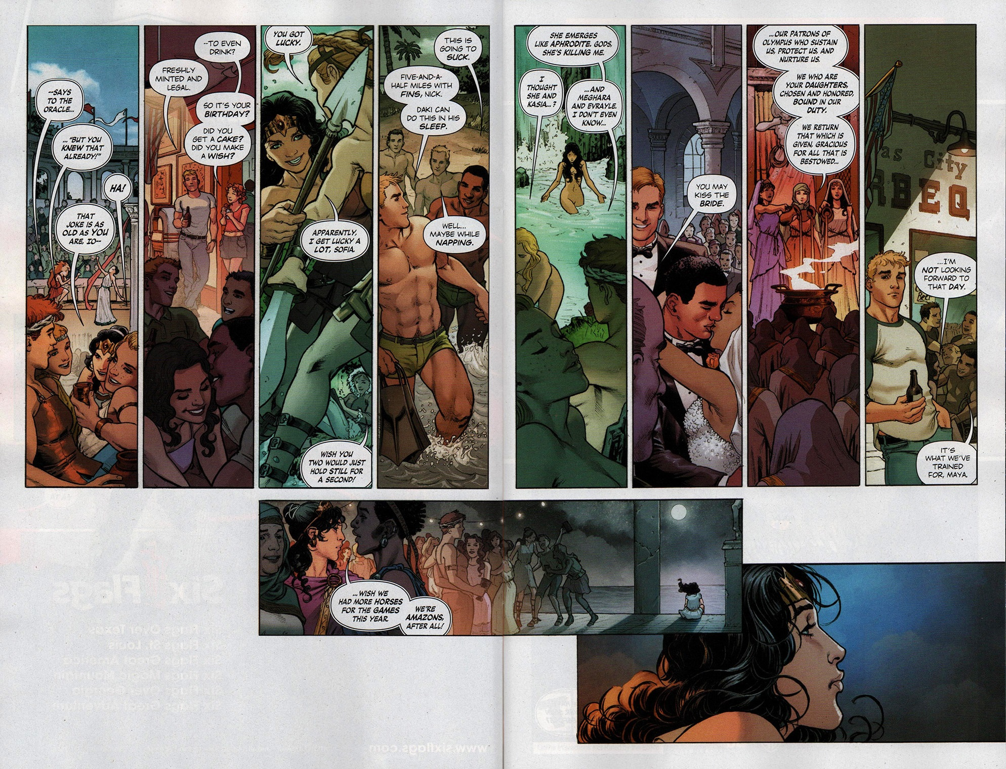 Read online Free Comic Book Day 2017 comic -  Issue # Wonder Woman 1 - 8