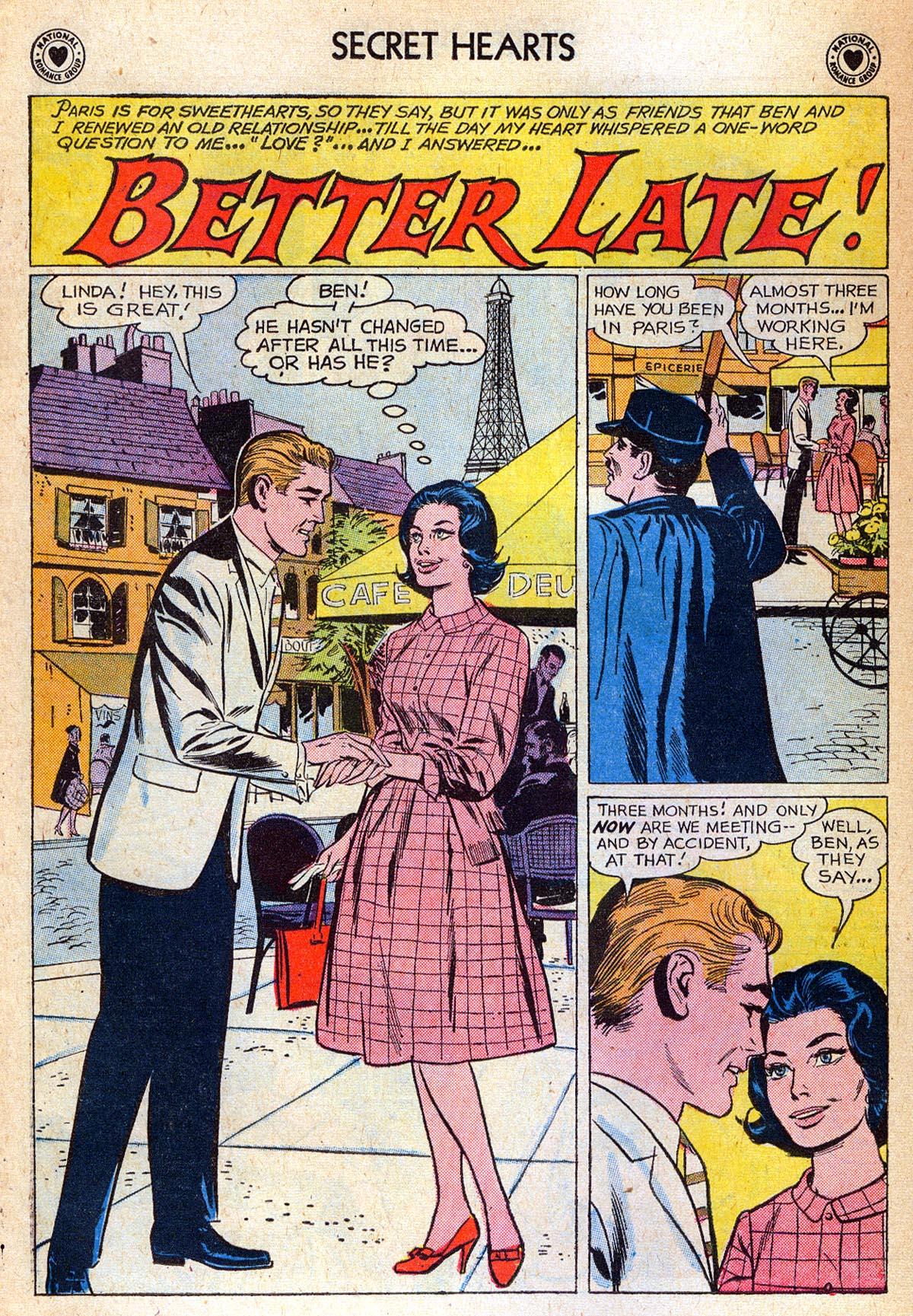 Read online Secret Hearts comic -  Issue #76 - 10