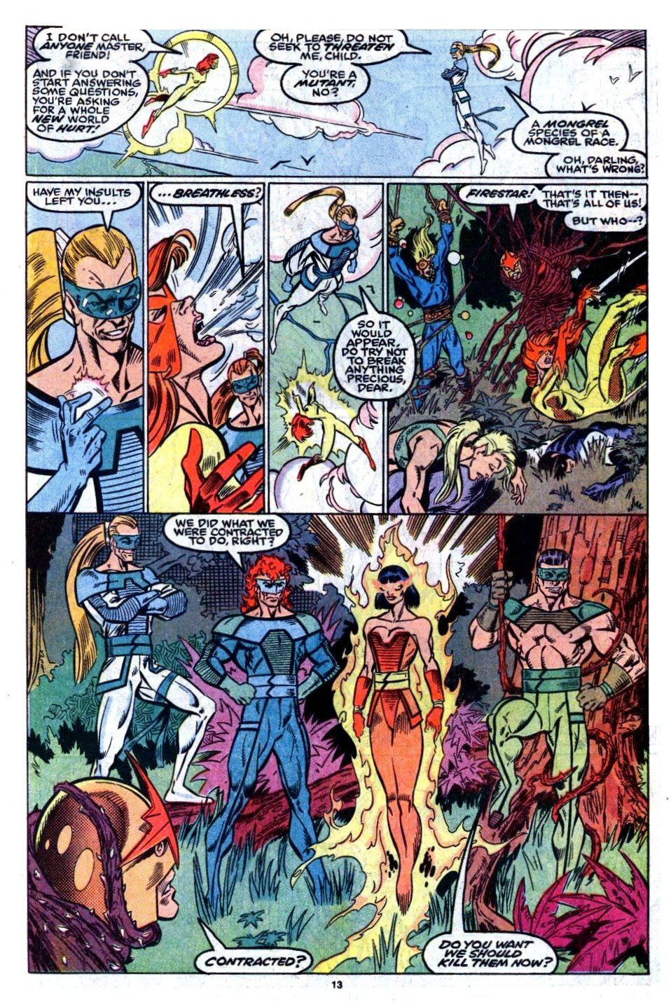 The New Warriors Issue #8 #12 - English 11