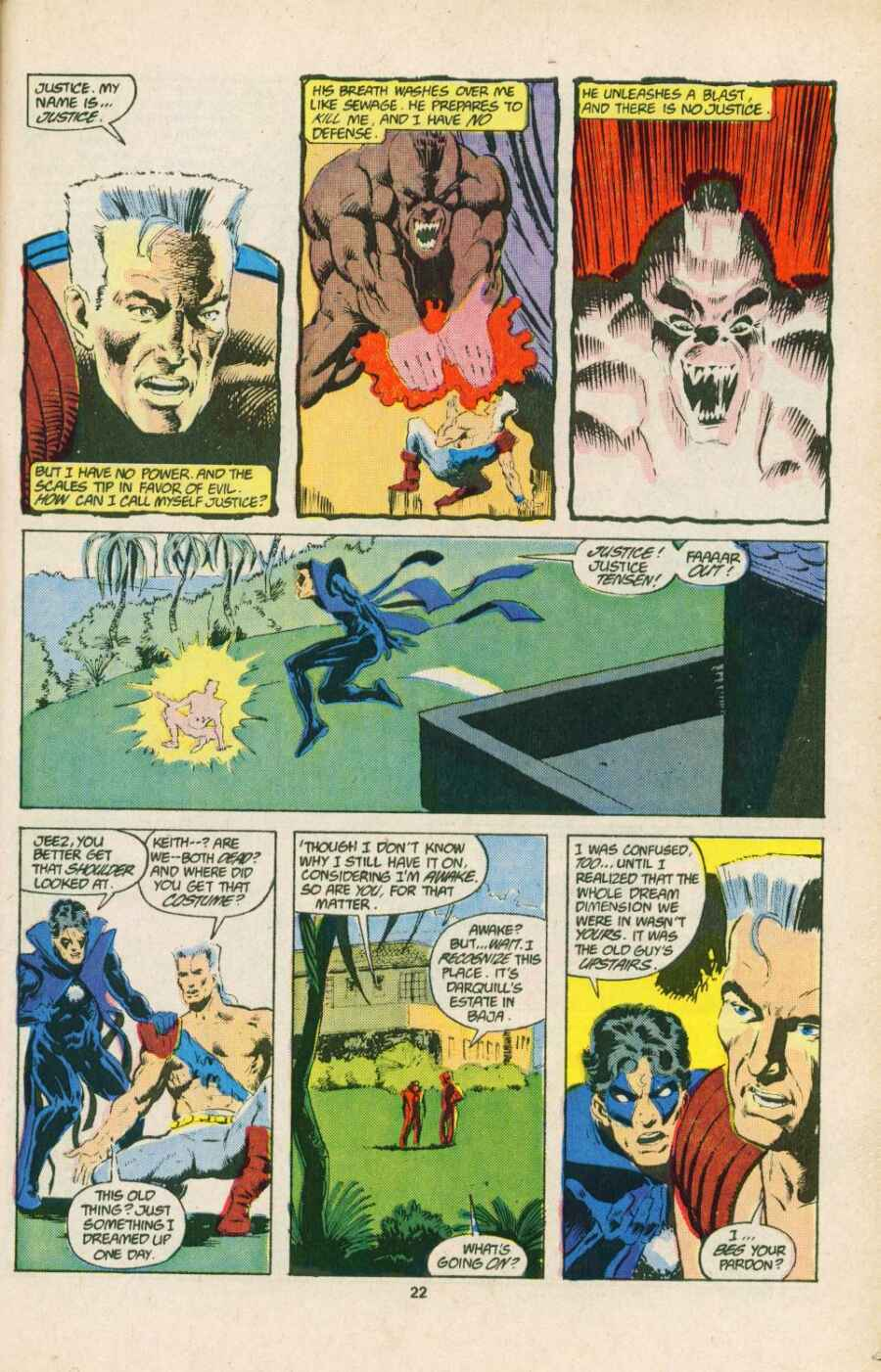 Read online Justice (1986) comic -  Issue #15 - 23