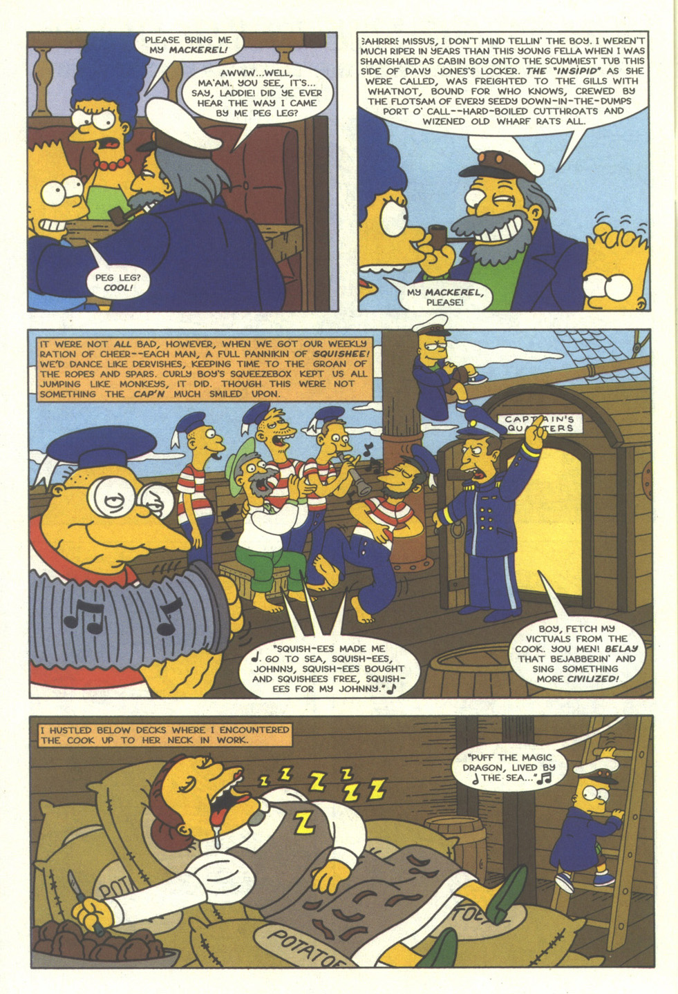 Read online Simpsons Comics comic -  Issue #27 - 27