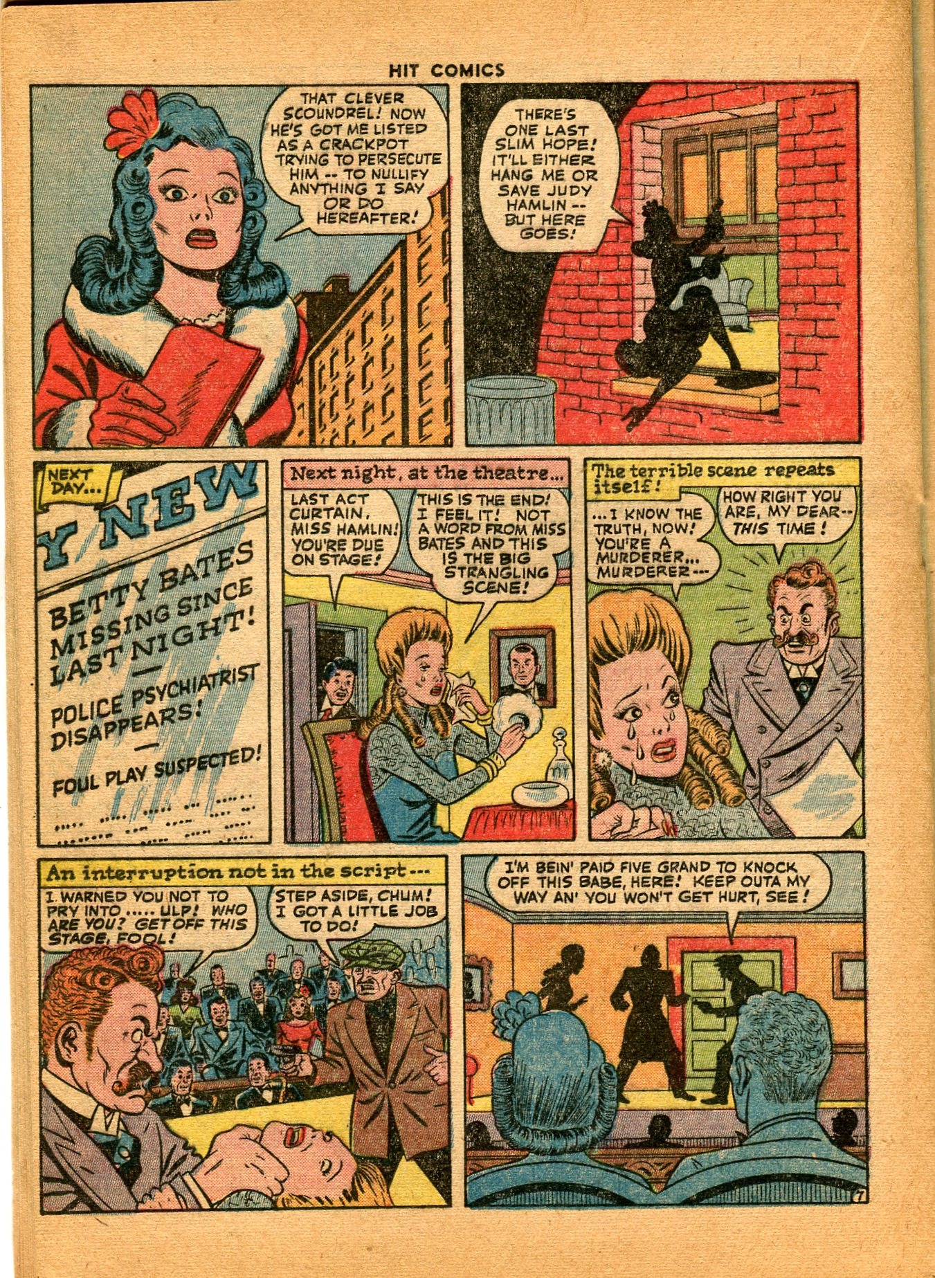 Read online Hit Comics comic -  Issue #35 - 36