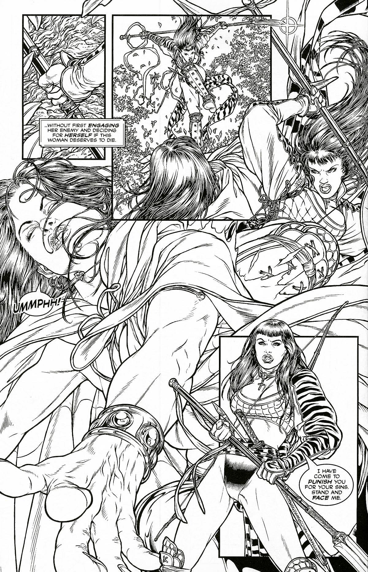 Read online Shi: Pandora's Box comic -  Issue #1 - 6