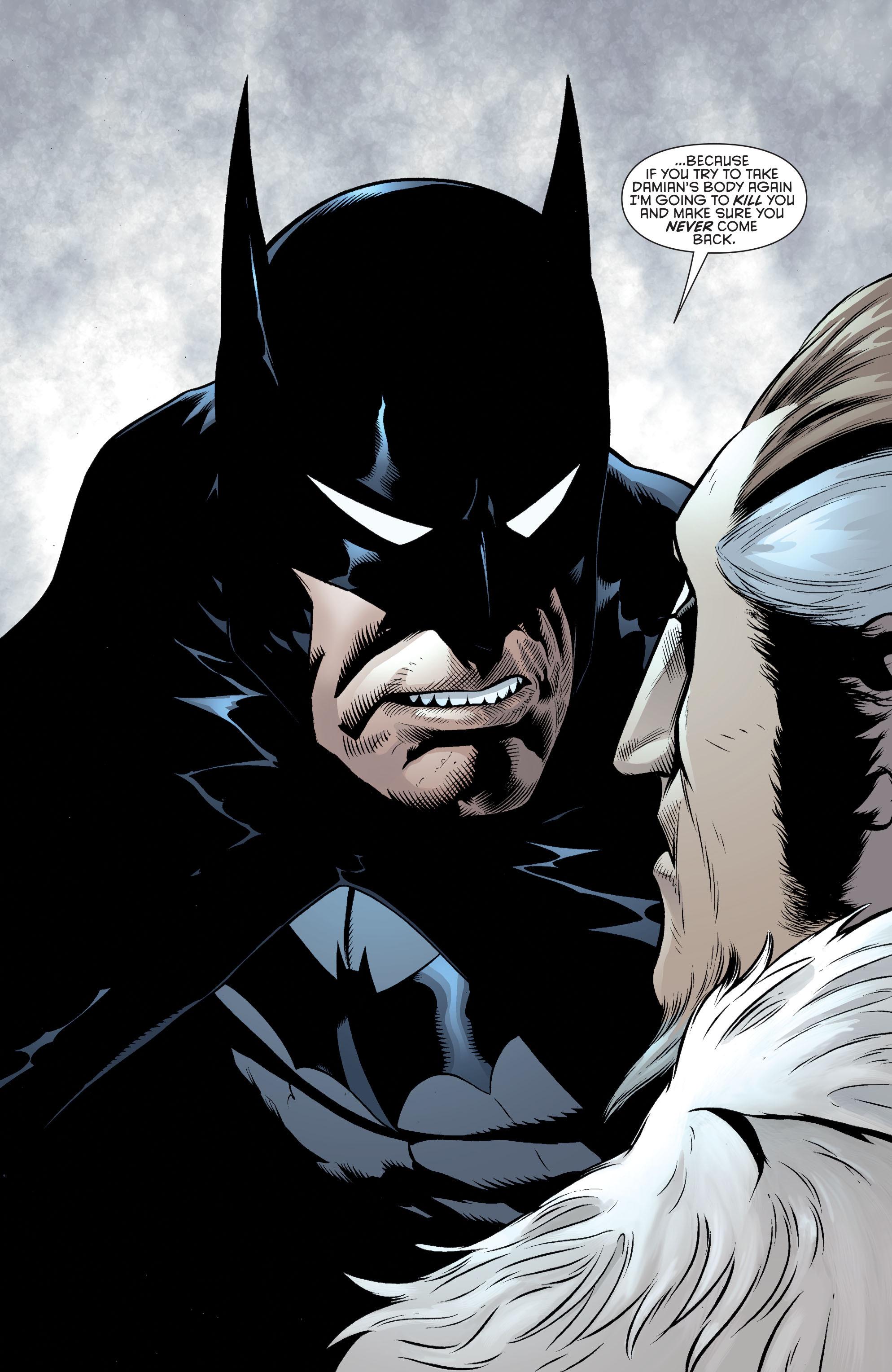 Read online Batman and Robin (2011) comic -  Issue #32 - Batman and Ra's al Ghul - 15