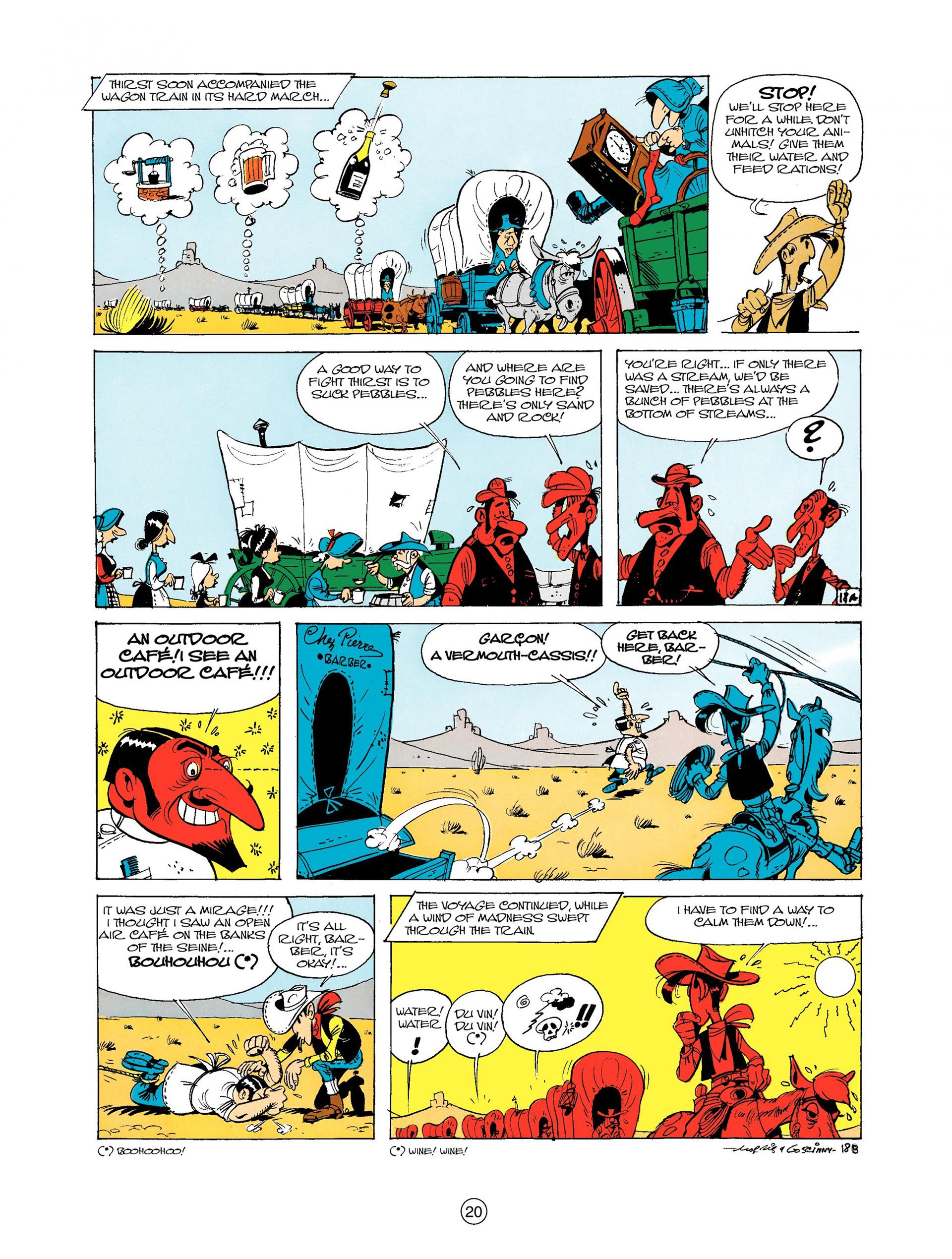 Read online A Lucky Luke Adventure comic -  Issue #9 - 20
