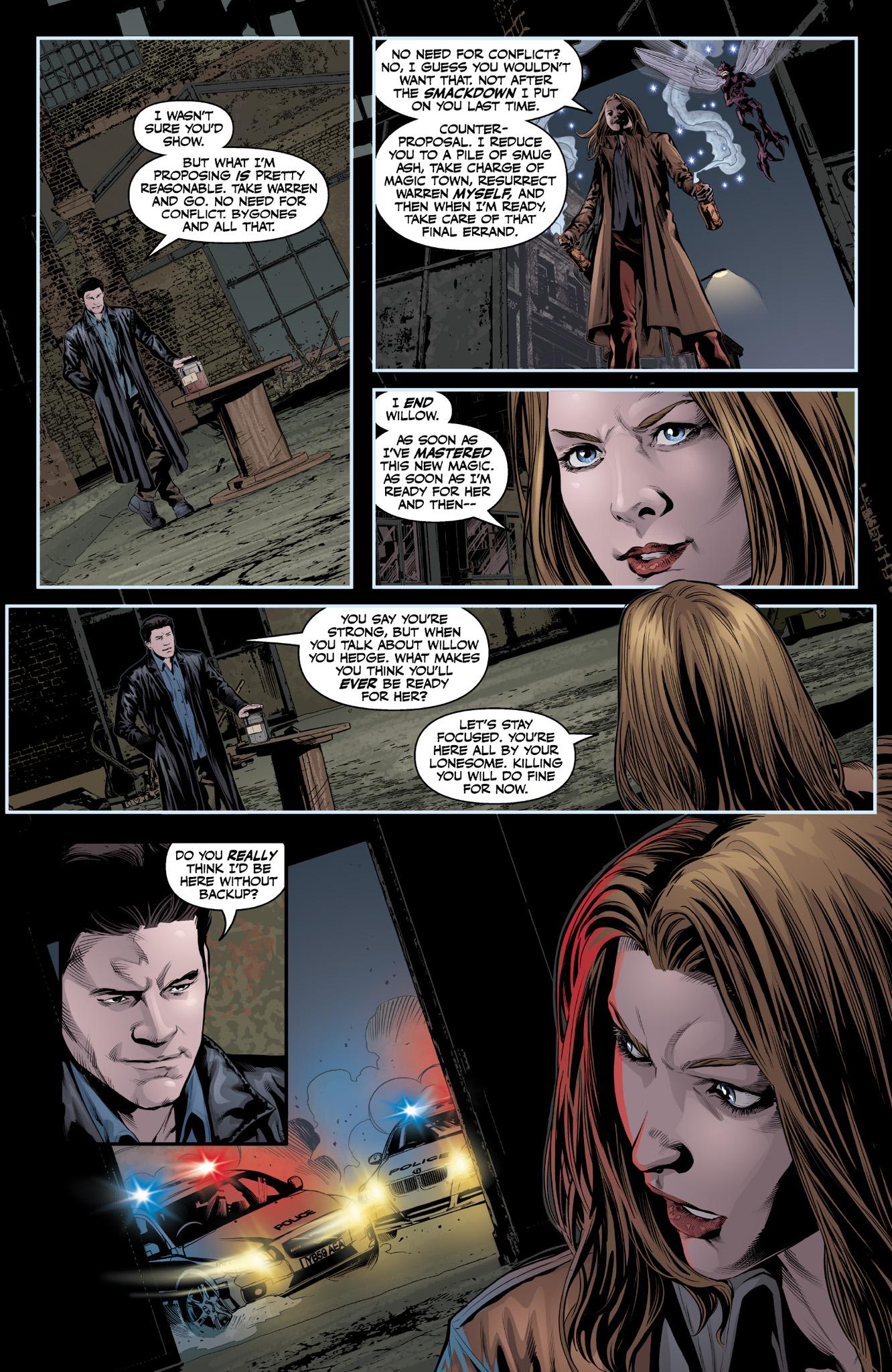 Read online Angel & Faith Season 10 comic -  Issue #9 - 18