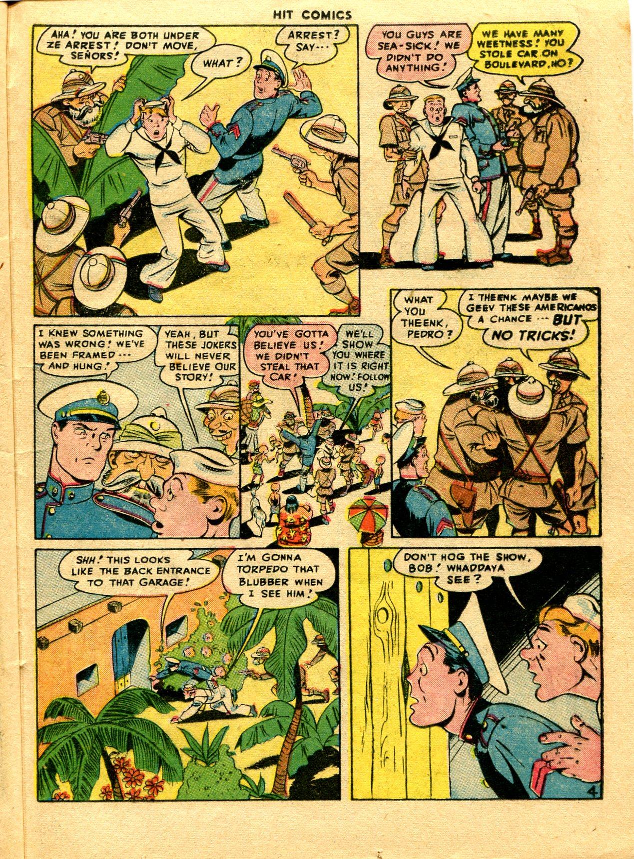 Read online Hit Comics comic -  Issue #48 - 35