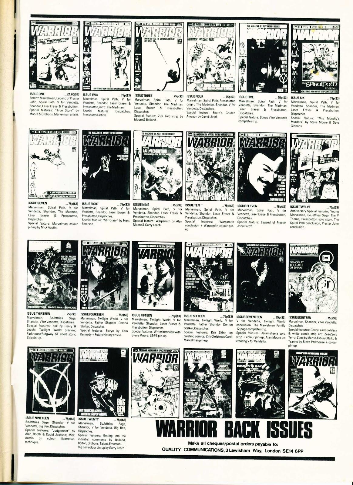 Warrior Issue #26 #27 - English 67