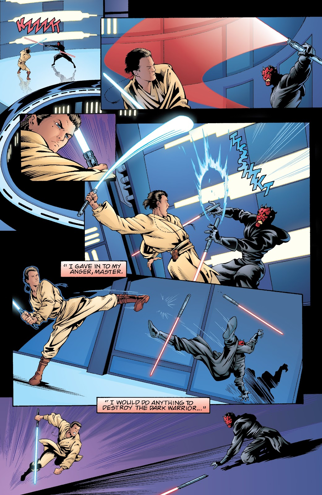 Read online Star Wars Legends: Rise of the Sith - Epic Collection comic -  Issue # TPB 2 (Part 5) - 44