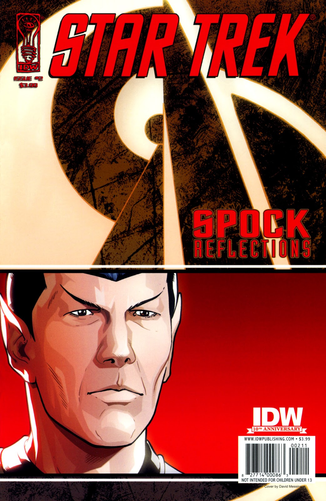 Star Trek: Spock: Reflections issue 2 - Page 1