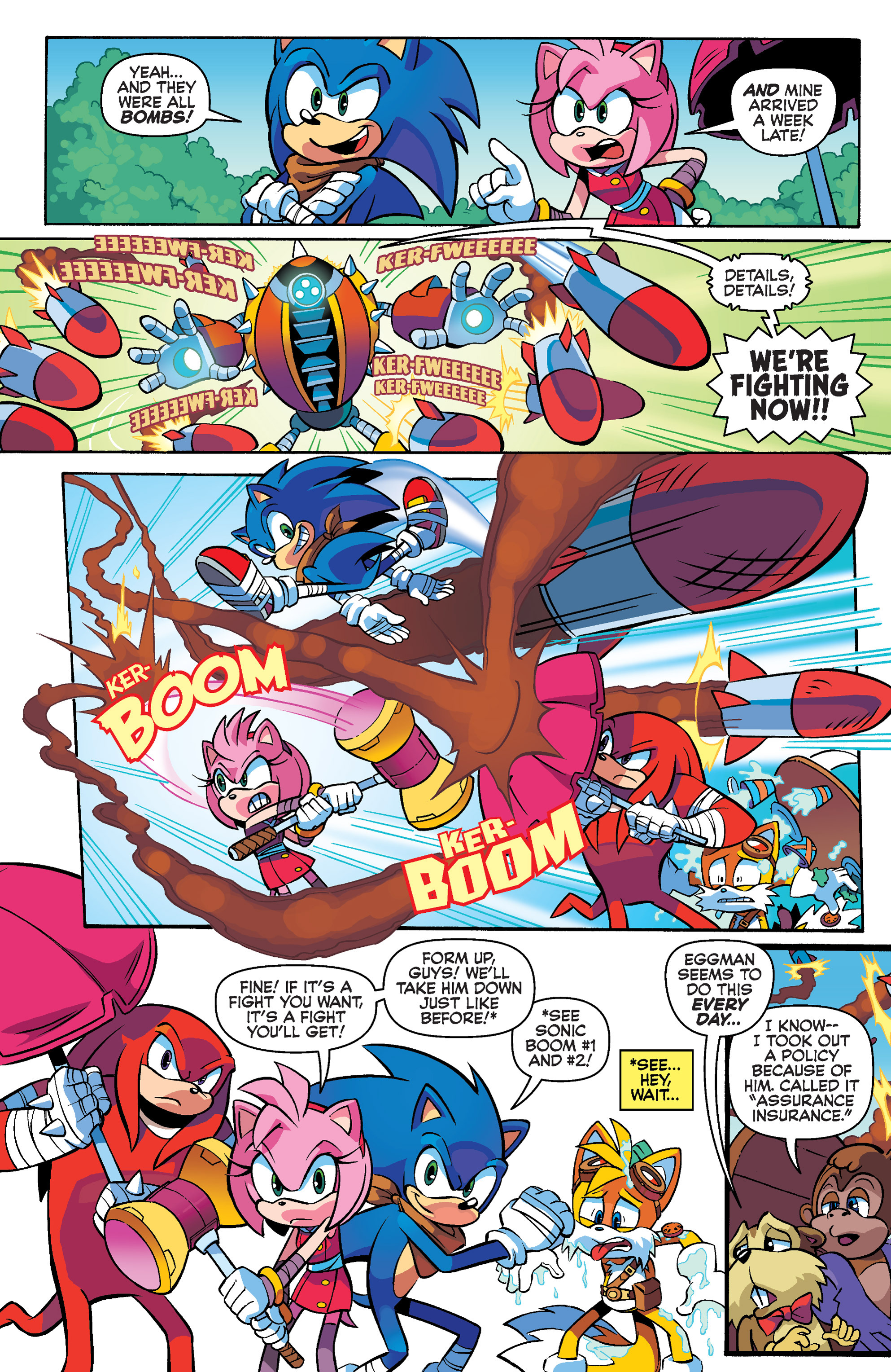 Read online Sonic Boom comic -  Issue #4 - 5