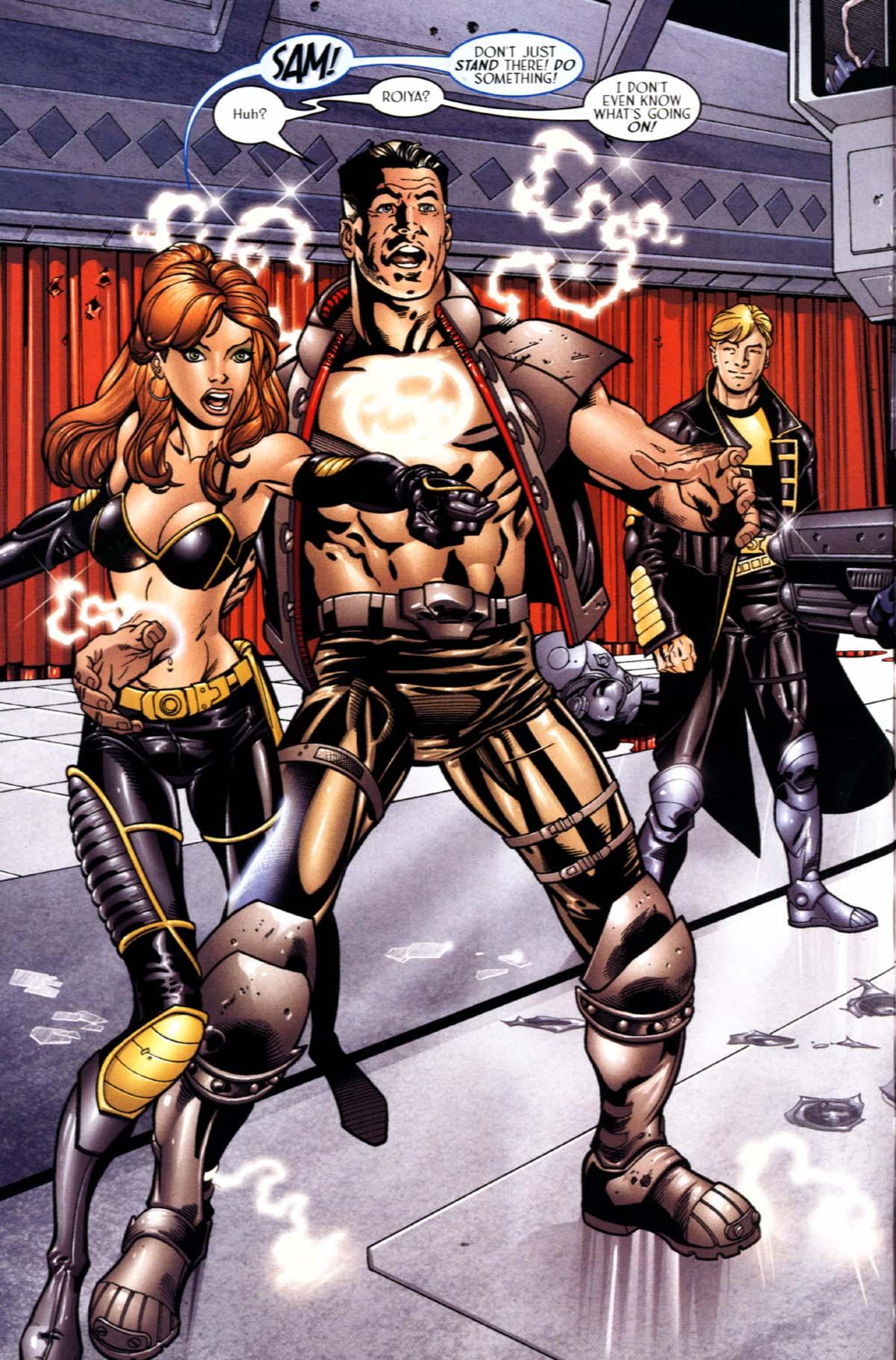 Read online Sigil (2000) comic -  Issue #22 - 4
