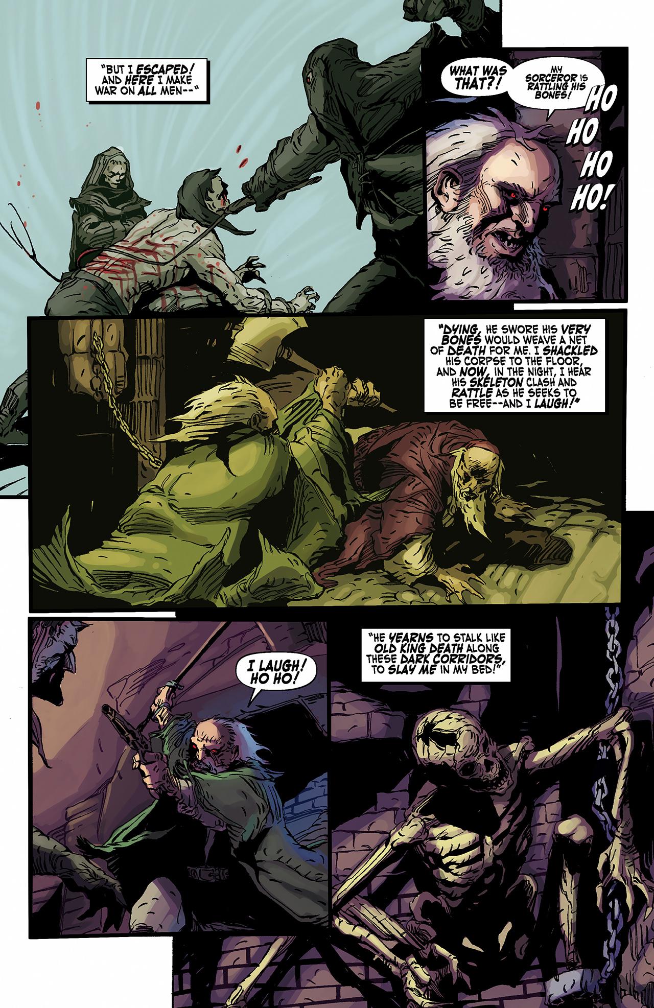 Read online Solomon Kane: Death's Black Riders comic -  Issue #2 - 20