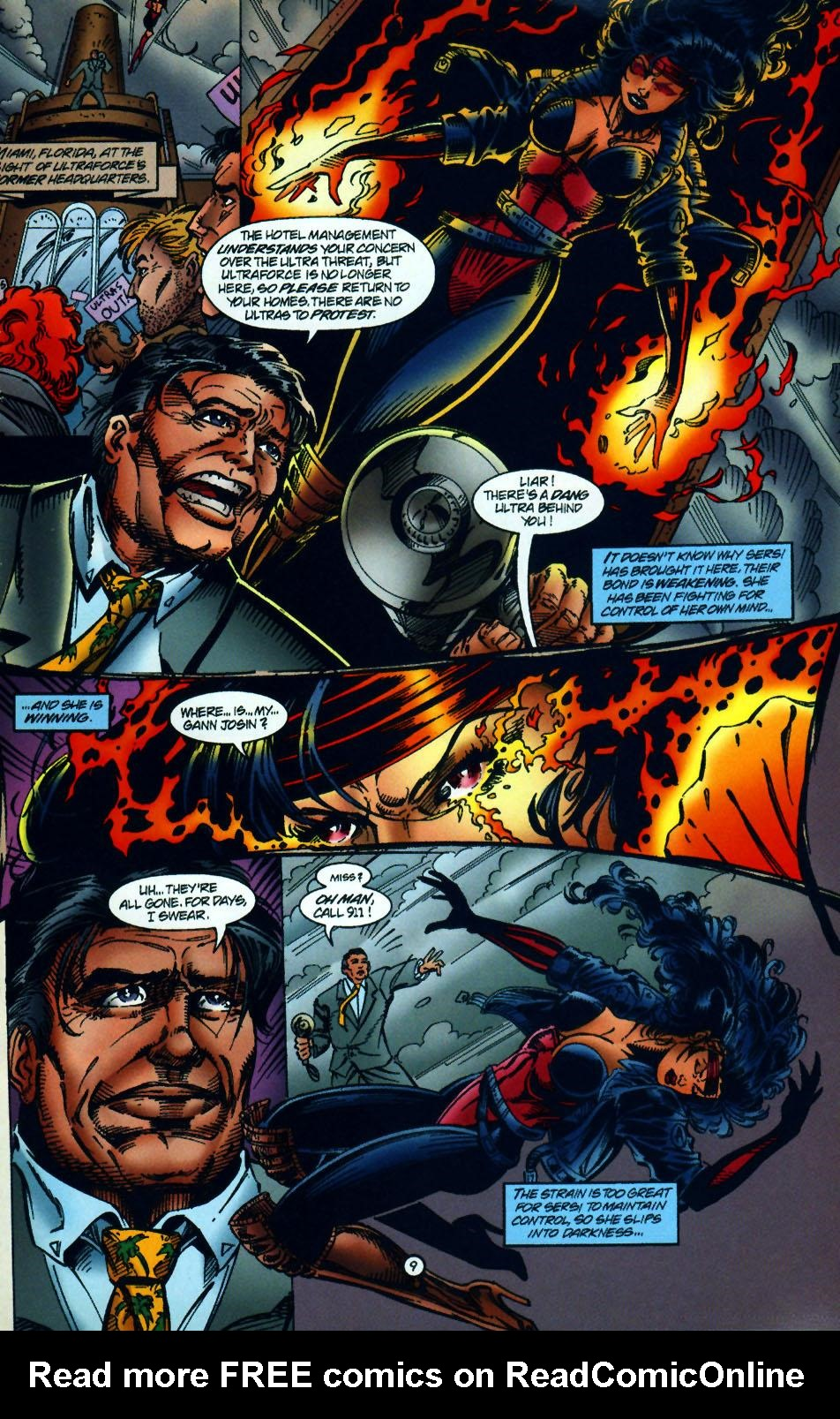 Read online UltraForce (1994) comic -  Issue #10 - 10