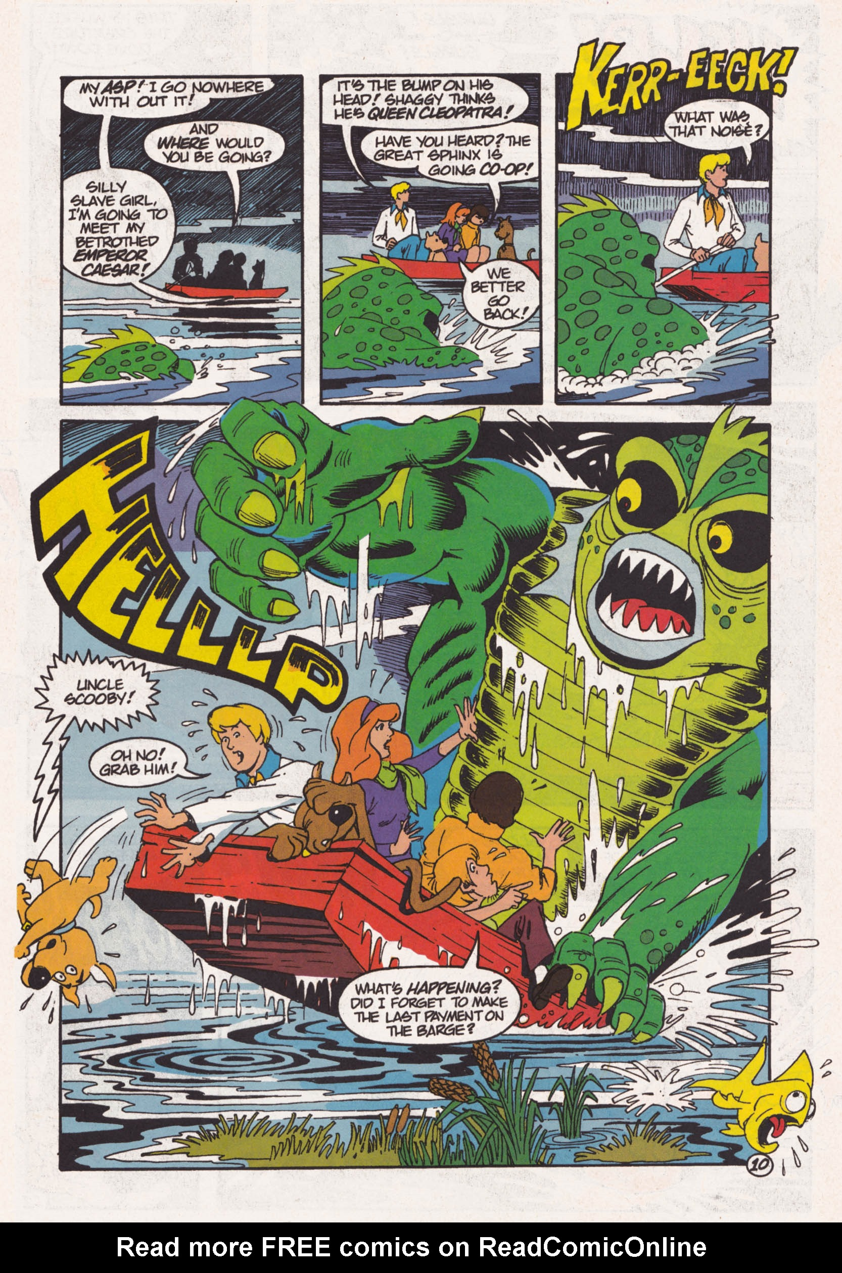 Read online Scooby-Doo (1995) comic -  Issue #1 - 11
